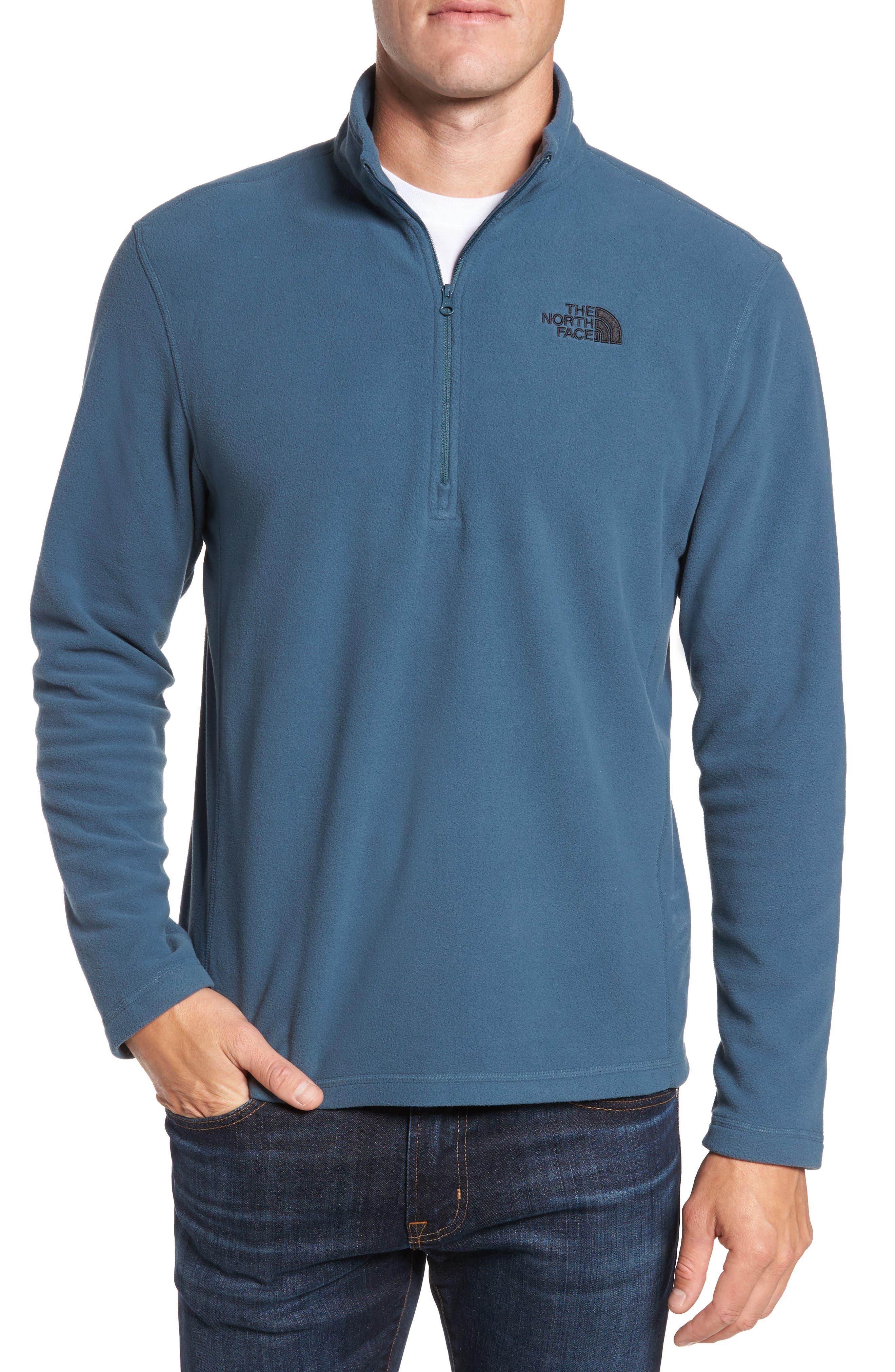 'TKA 100 Glacier' Quarter Zip Fleece Pullover,                             Main thumbnail 7, color,
