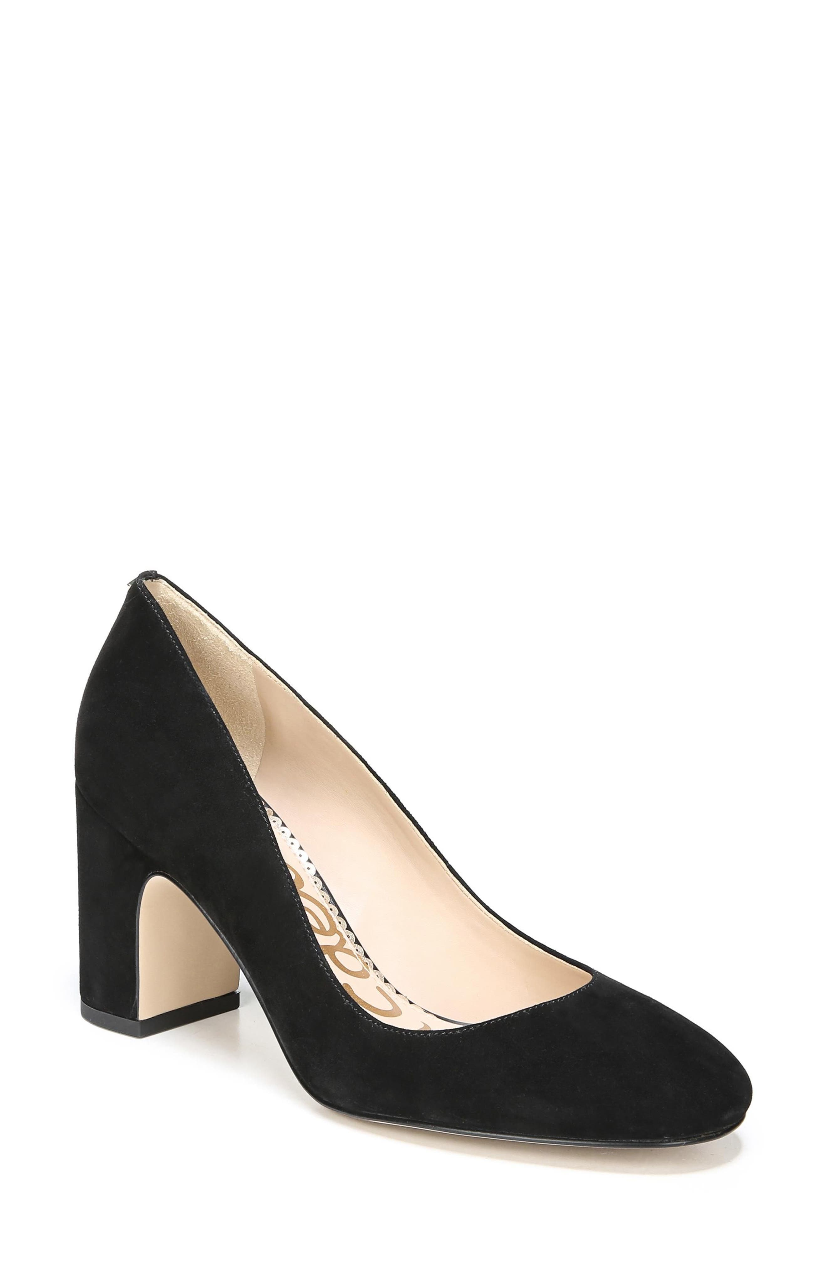 Junie Genuine Calf Hair Pump,                             Main thumbnail 1, color,                             001