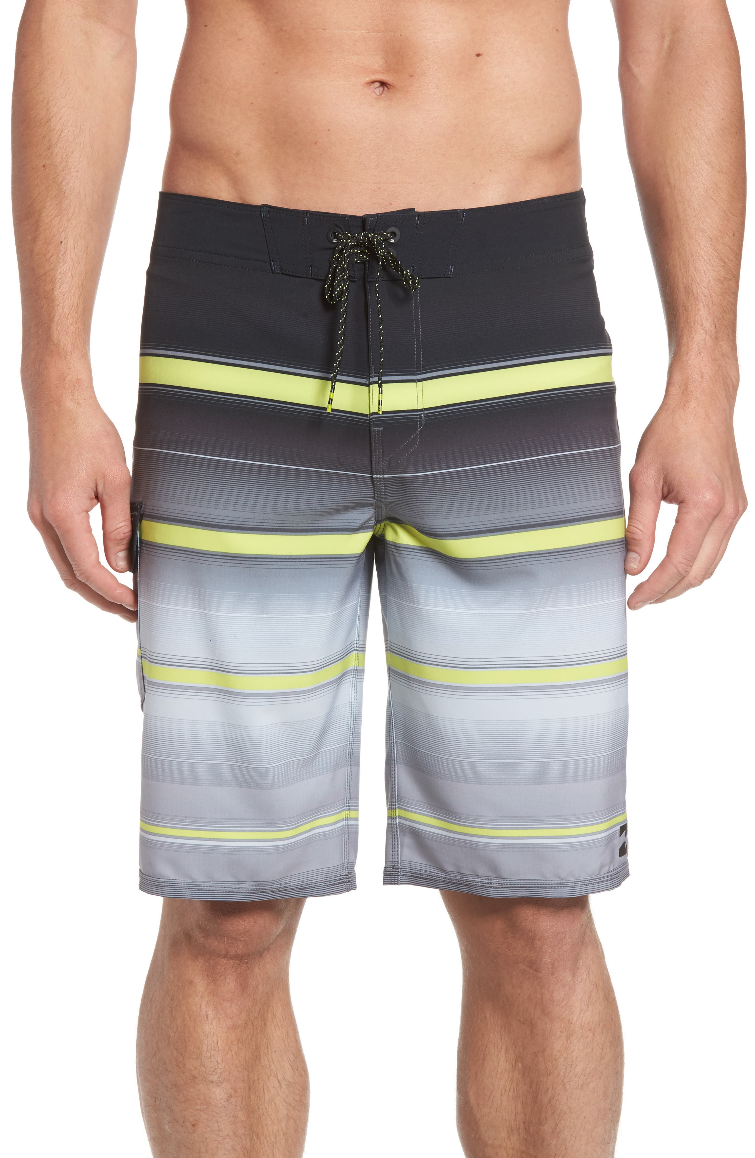 All Day X Stripe Board Shorts,                             Main thumbnail 2, color,