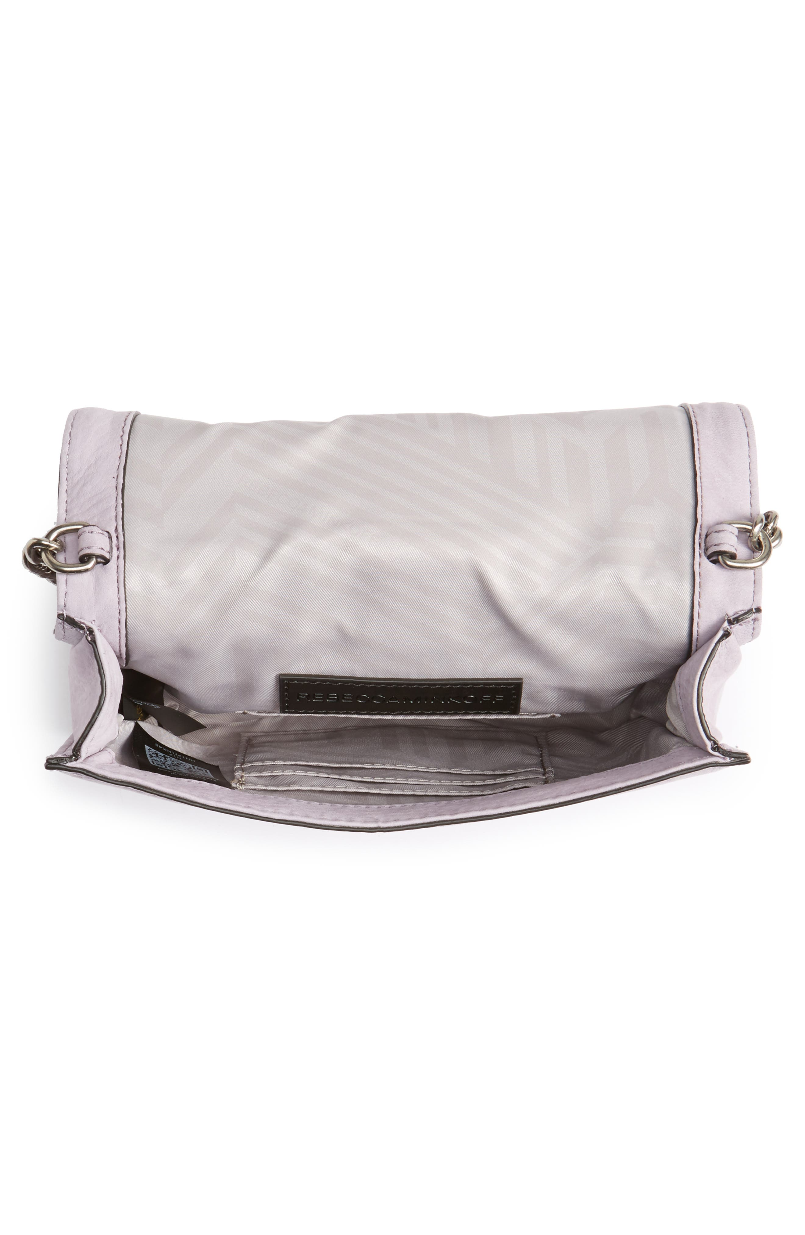 Small Love Nubuck Leather Crossbody Bag,                             Alternate thumbnail 20, color,