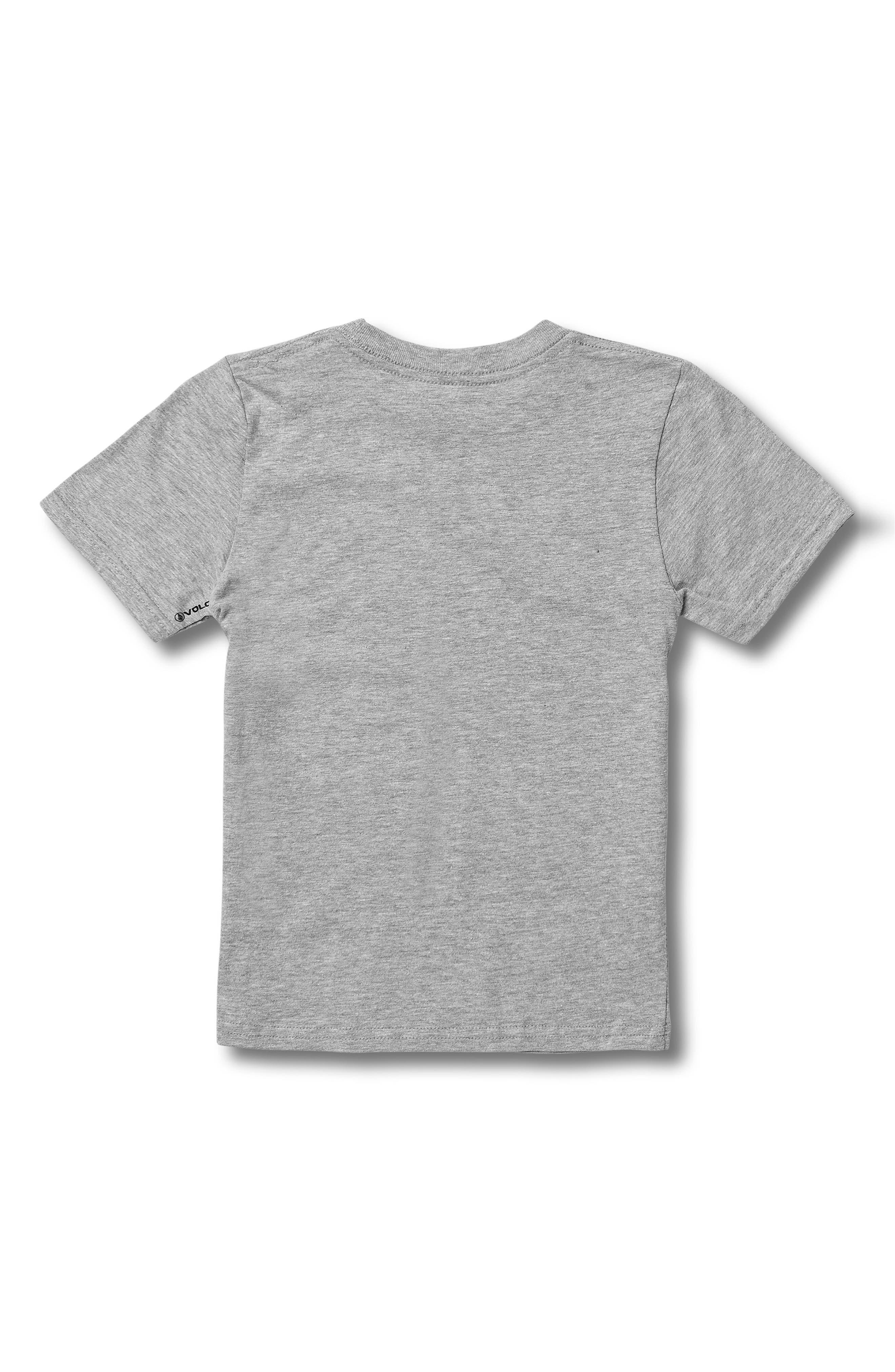 Crisp Euro Graphic T-Shirt,                             Alternate thumbnail 2, color,                             GREY HEATH