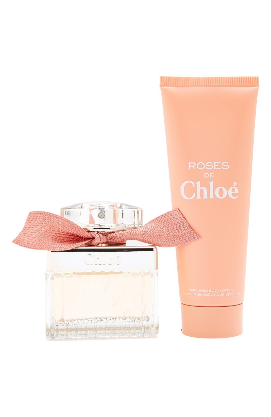 'Roses de Chloé' Set,                             Alternate thumbnail 2, color,                             000