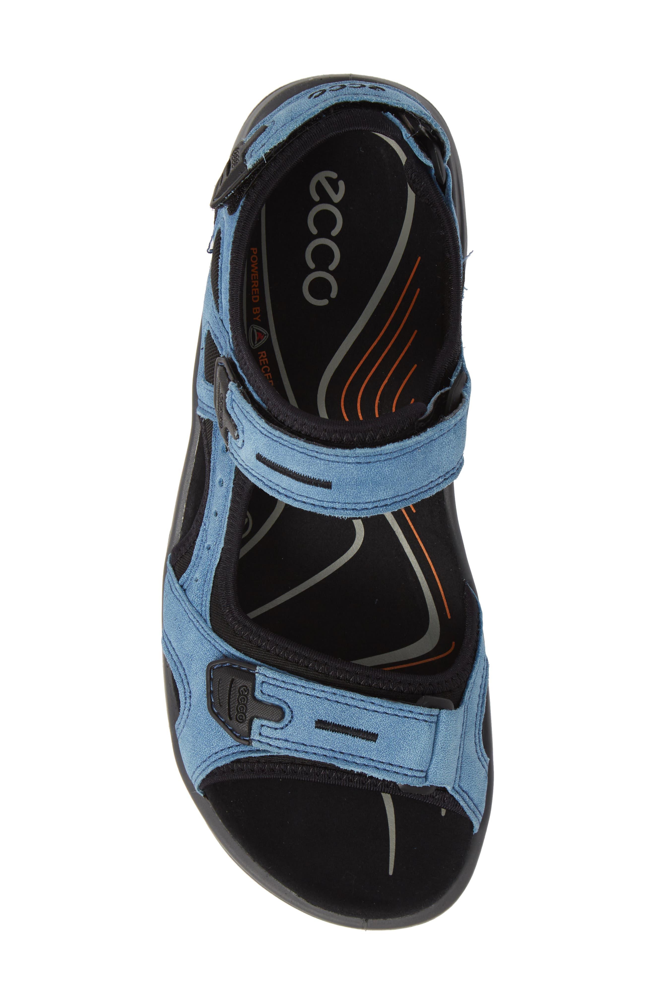 Offroad Sport Sandal,                             Alternate thumbnail 5, color,                             INDIGO LEATHER