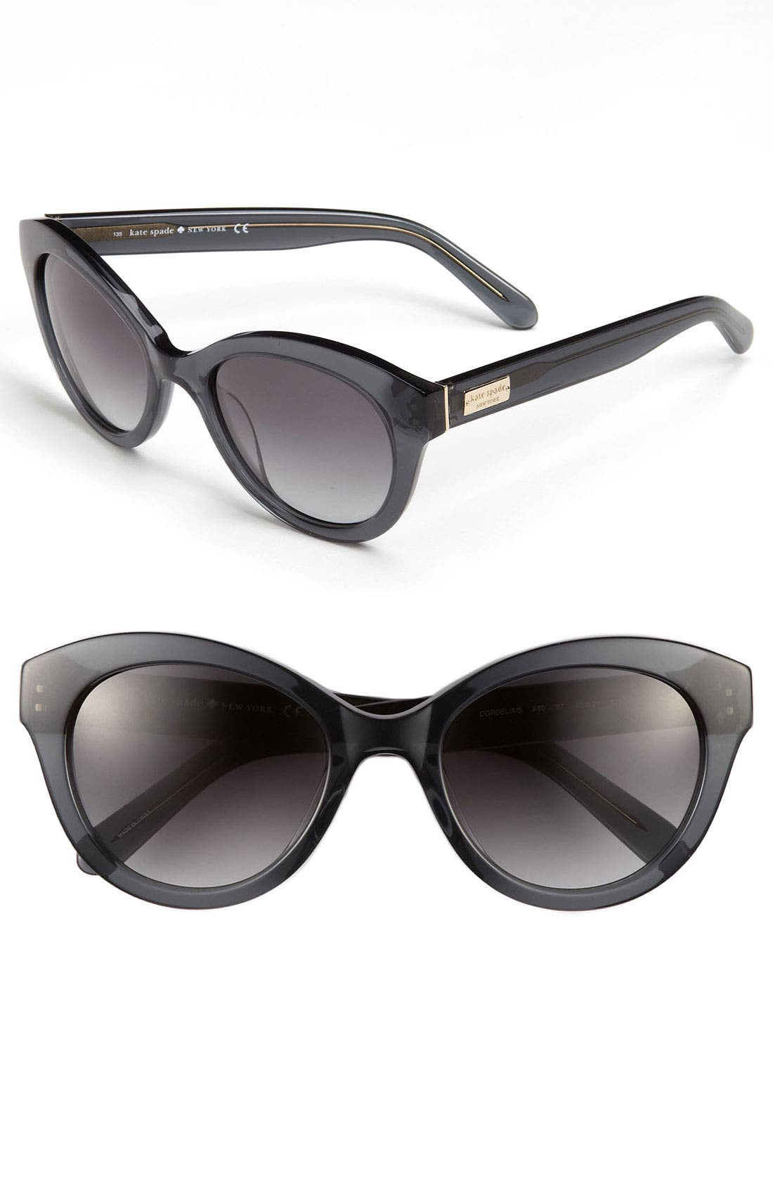 'cordelia' 52mm retro sunglasses,                             Main thumbnail 1, color,                             020