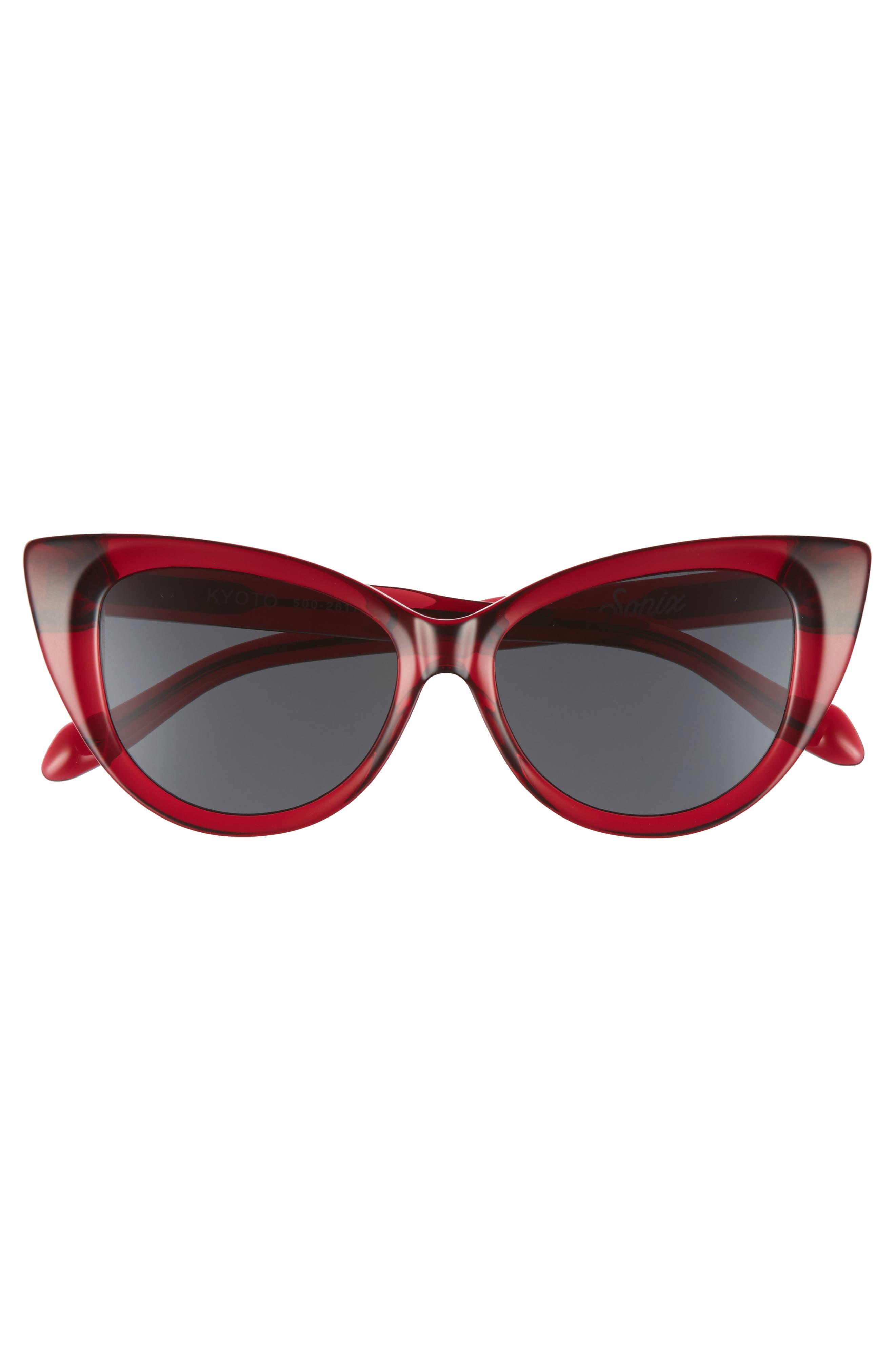 Kyoto 51mm Cat Eye Sunglasses,                             Alternate thumbnail 15, color,
