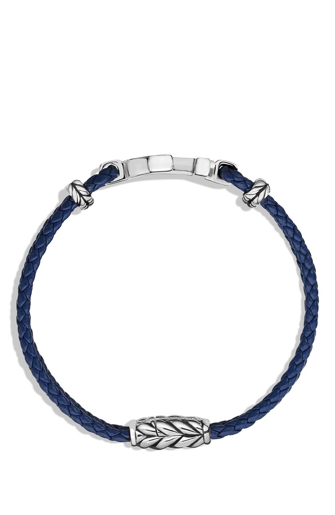 Pavé Anchor Bracelet,                             Alternate thumbnail 2, color,                             SAPPHIRE