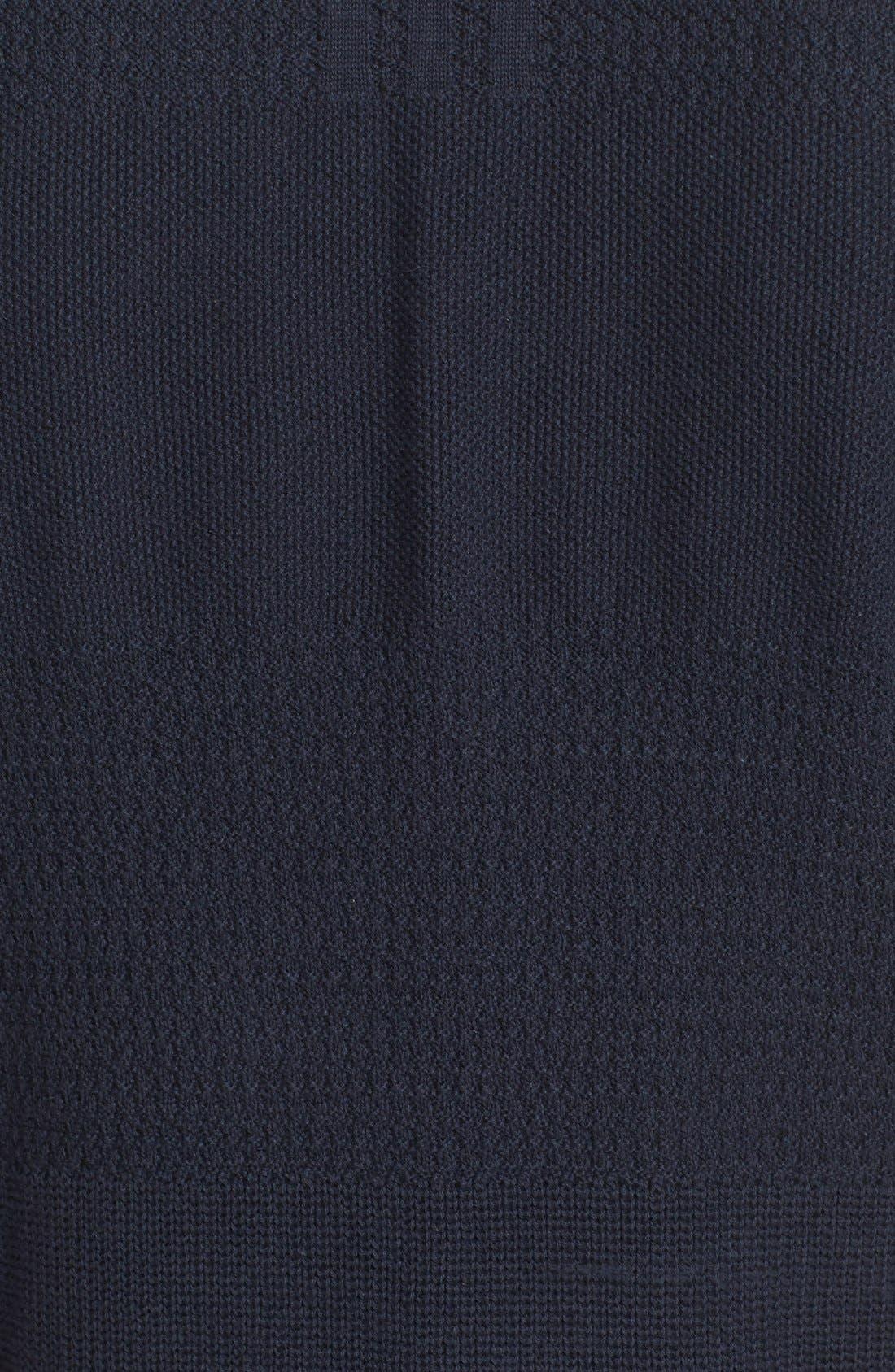 Linear Cotton & Linen T-Shirt,                             Alternate thumbnail 6, color,                             410