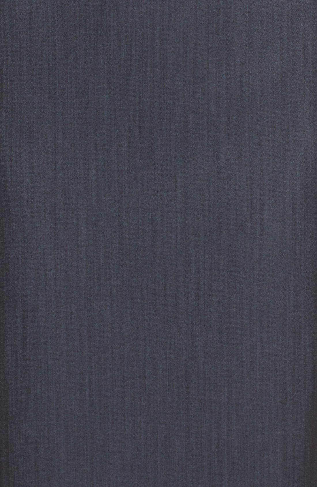 ANNE KLEIN,                             Stretch Woven Suit Skirt,                             Alternate thumbnail 6, color,                             INDIGO TWILL