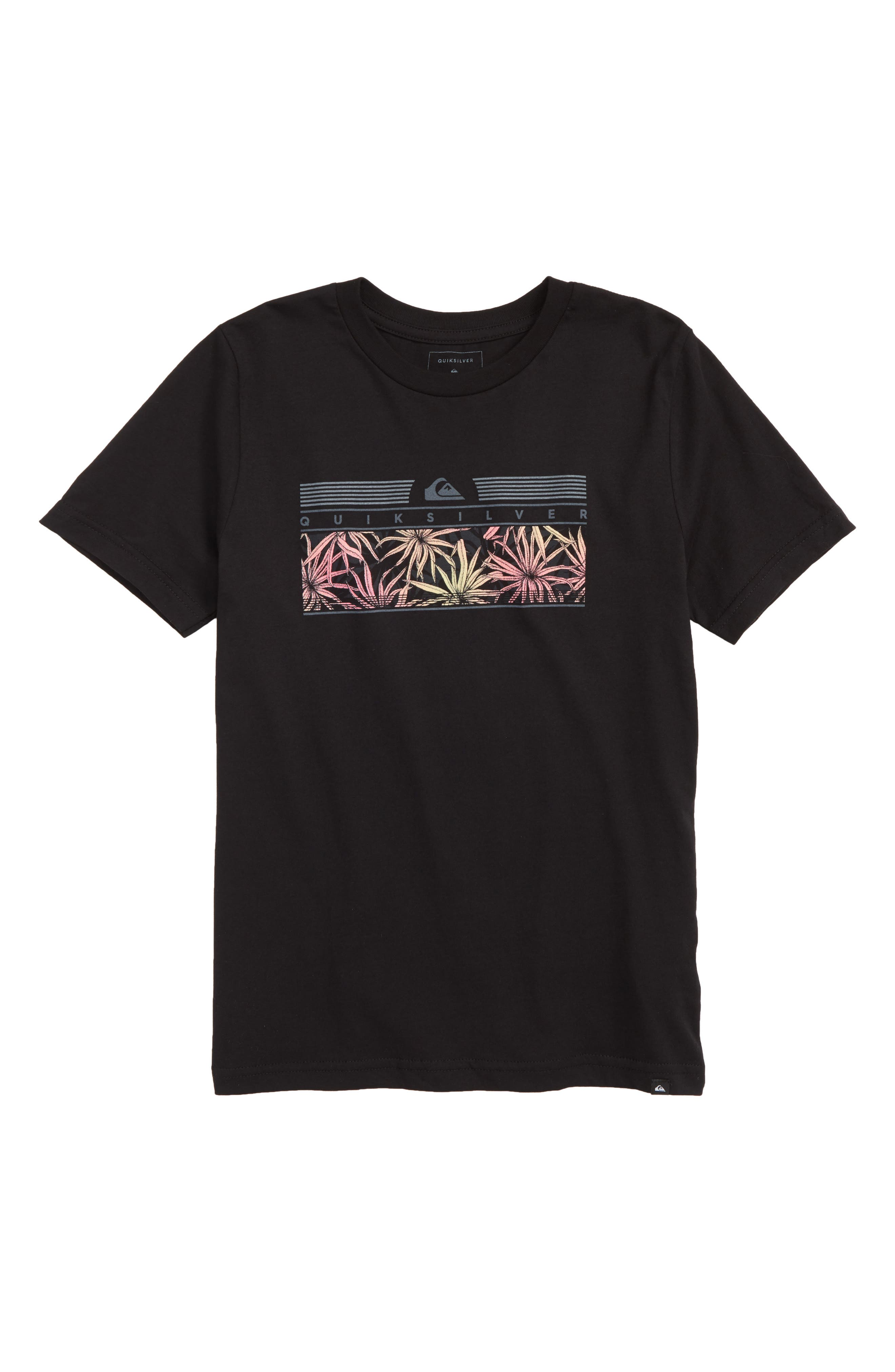 The Jungle Graphic T-Shirt, Main, color, BLACK