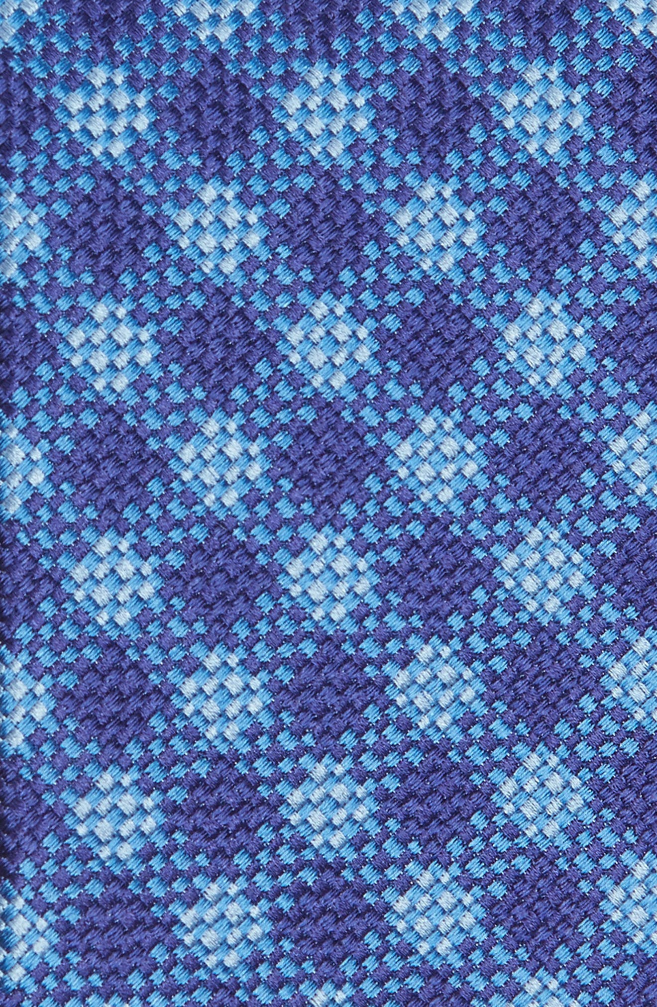 Check Silk Tie,                             Alternate thumbnail 4, color,