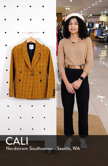 Poirot Plaid Blazer, sales video thumbnail