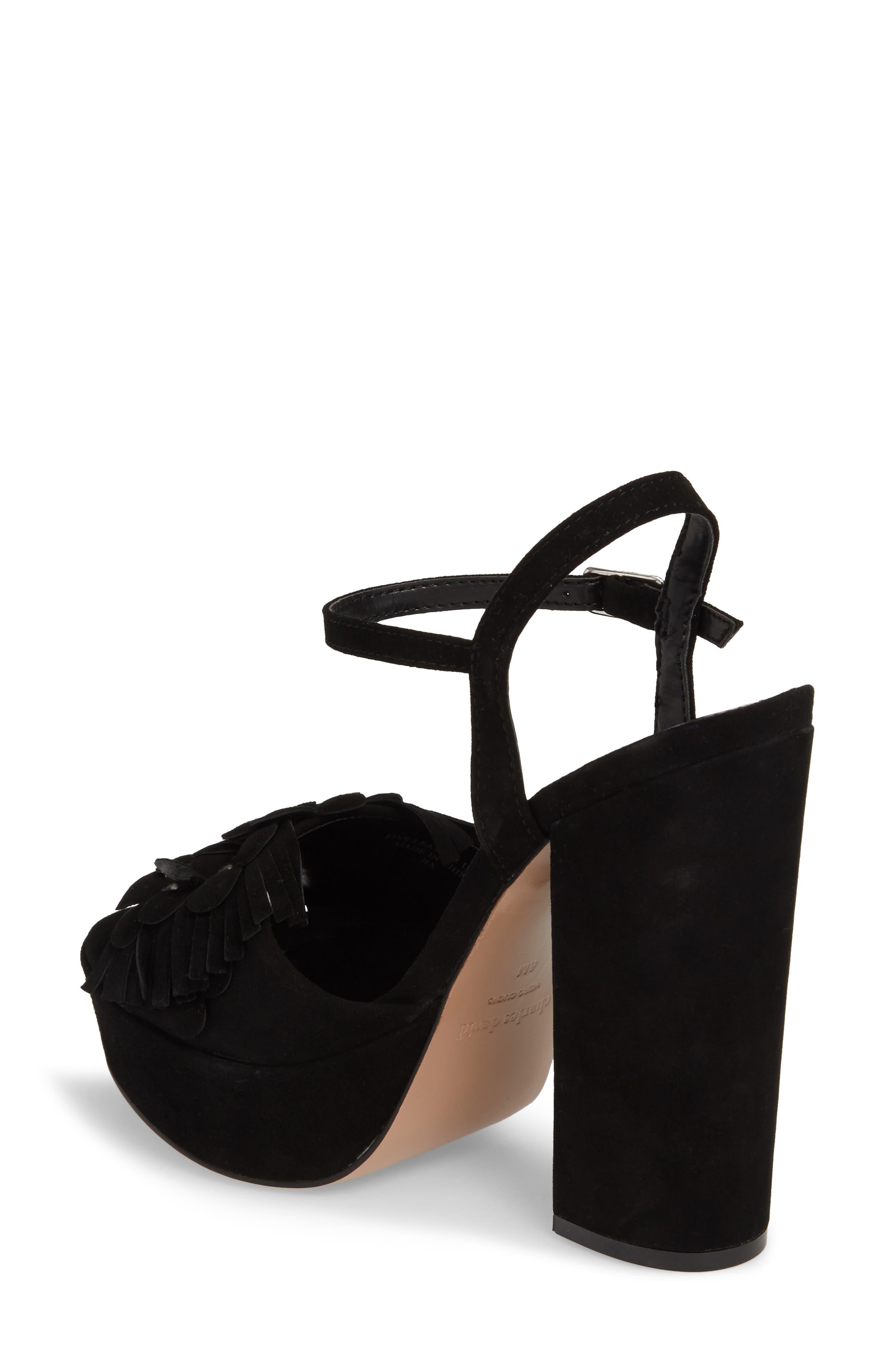 Royale Sandal,                             Alternate thumbnail 2, color,                             BLACK SUEDE