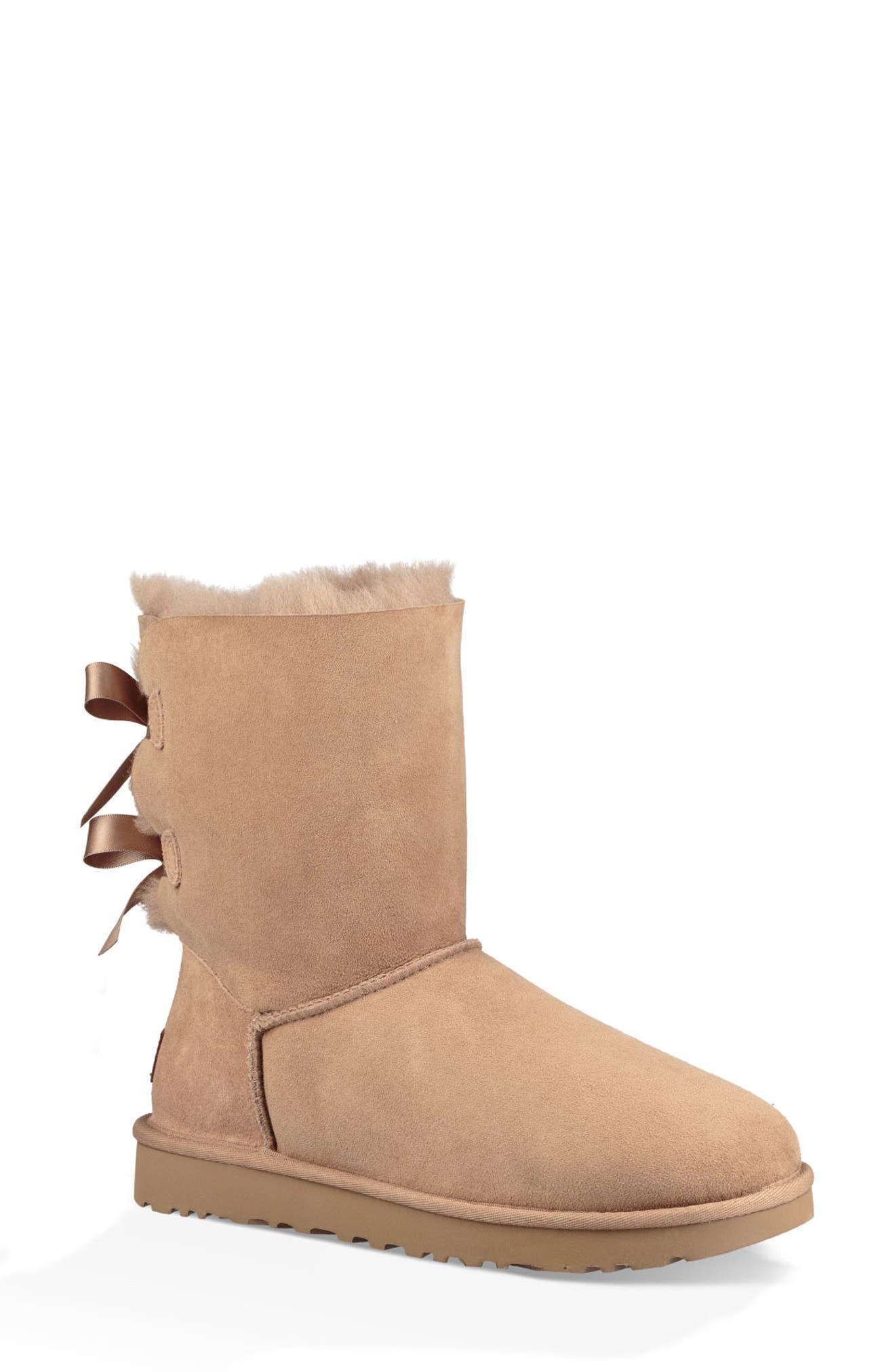 'Bailey Bow II' Boot,                             Main thumbnail 1, color,                             FAWN