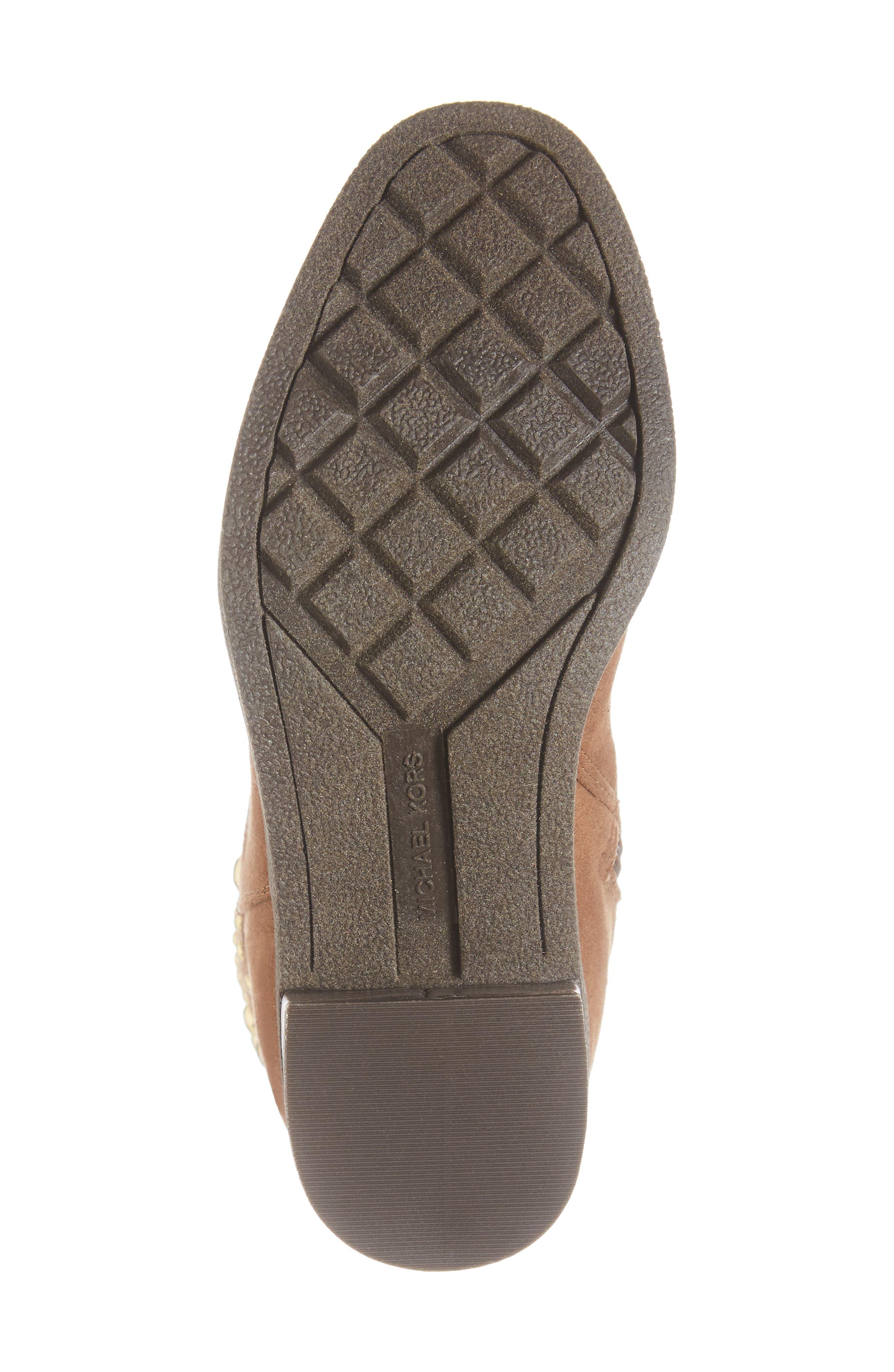 Fawn Desert Studded Boot,                             Alternate thumbnail 6, color,                             CARAMEL