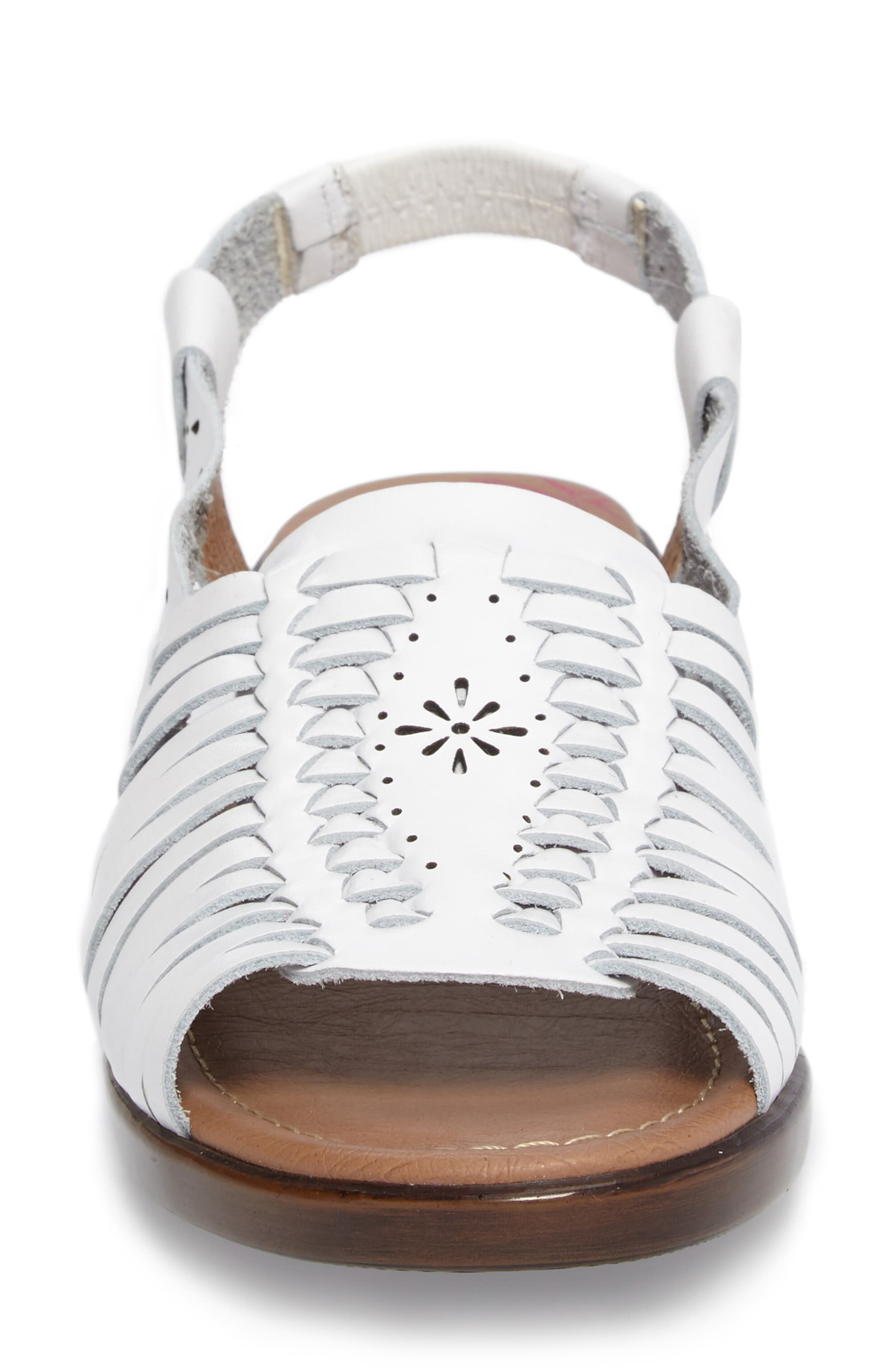 Formasa Huarache Slingback Sandal,                             Alternate thumbnail 4, color,                             100
