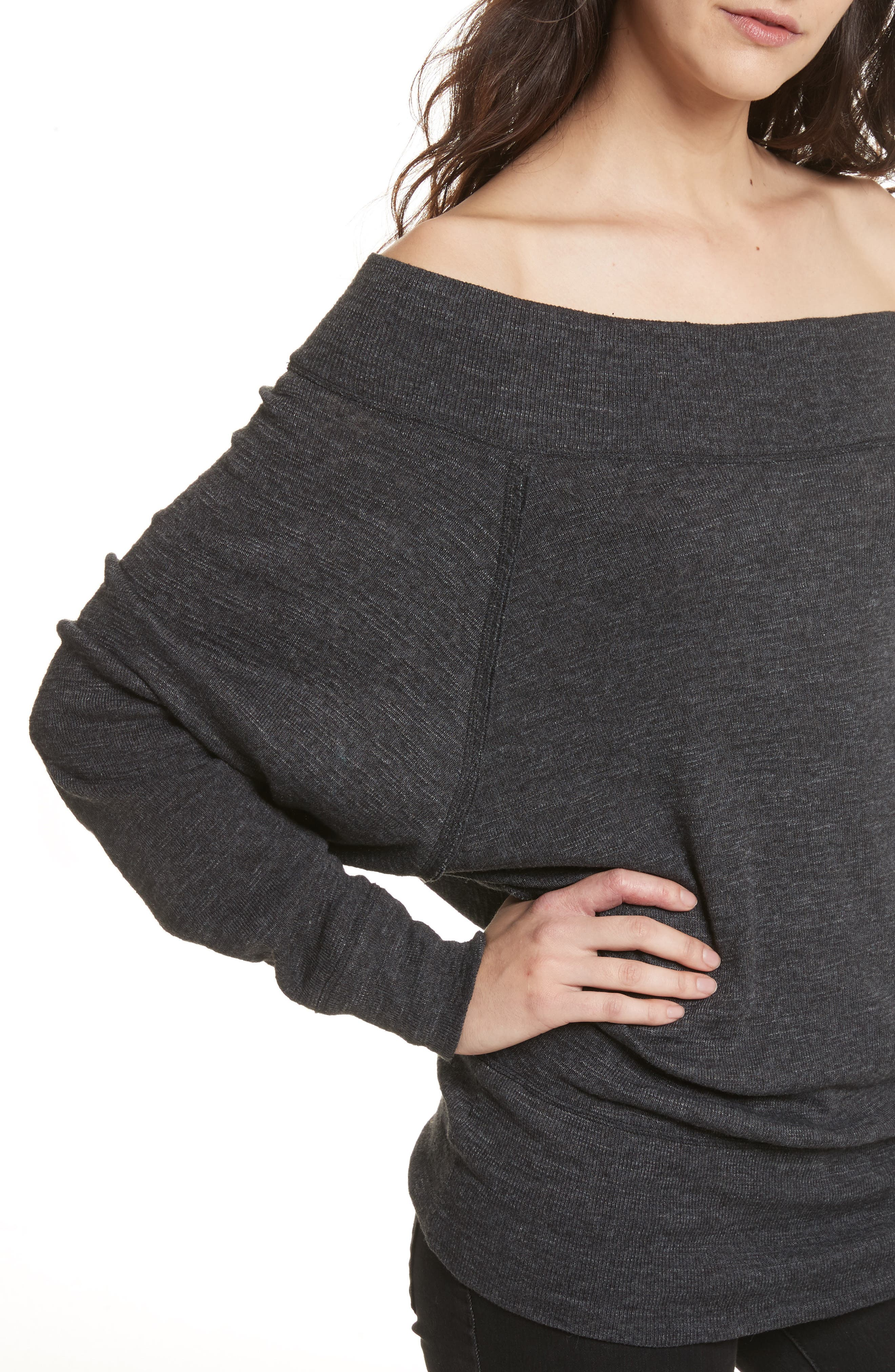 Palisades Off the Shoulder Top,                             Alternate thumbnail 35, color,