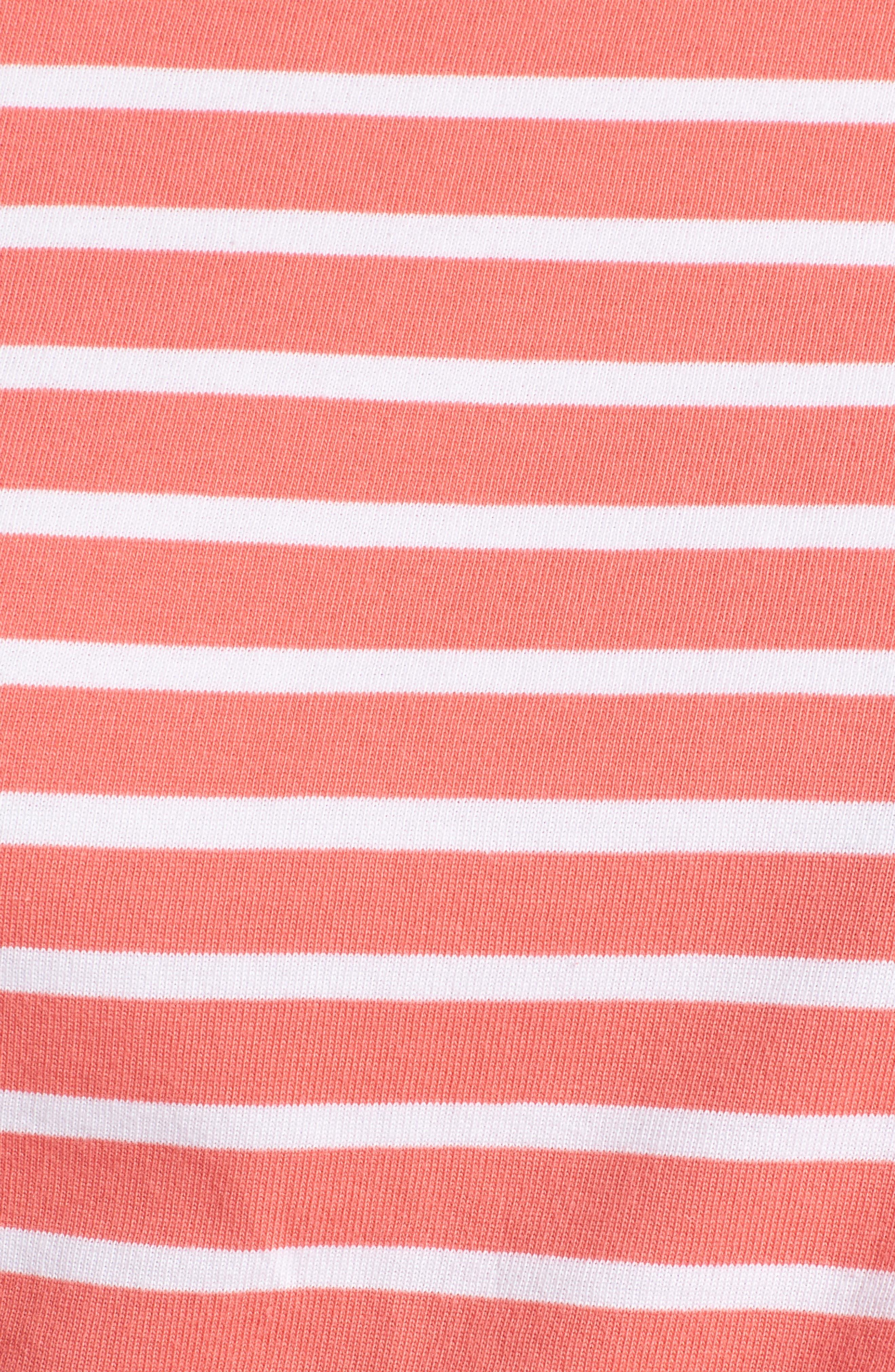 Shoulder Button Cotton Top,                             Alternate thumbnail 6, color,                             958