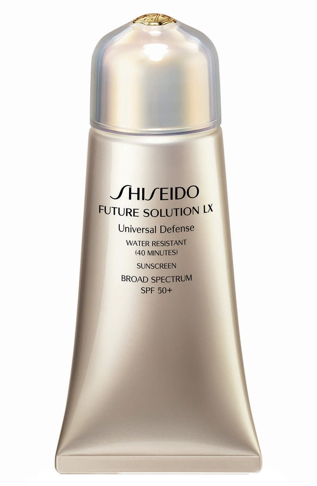 Future Solution LX Universal Defense SPF 50+,                             Main thumbnail 1, color,                             000