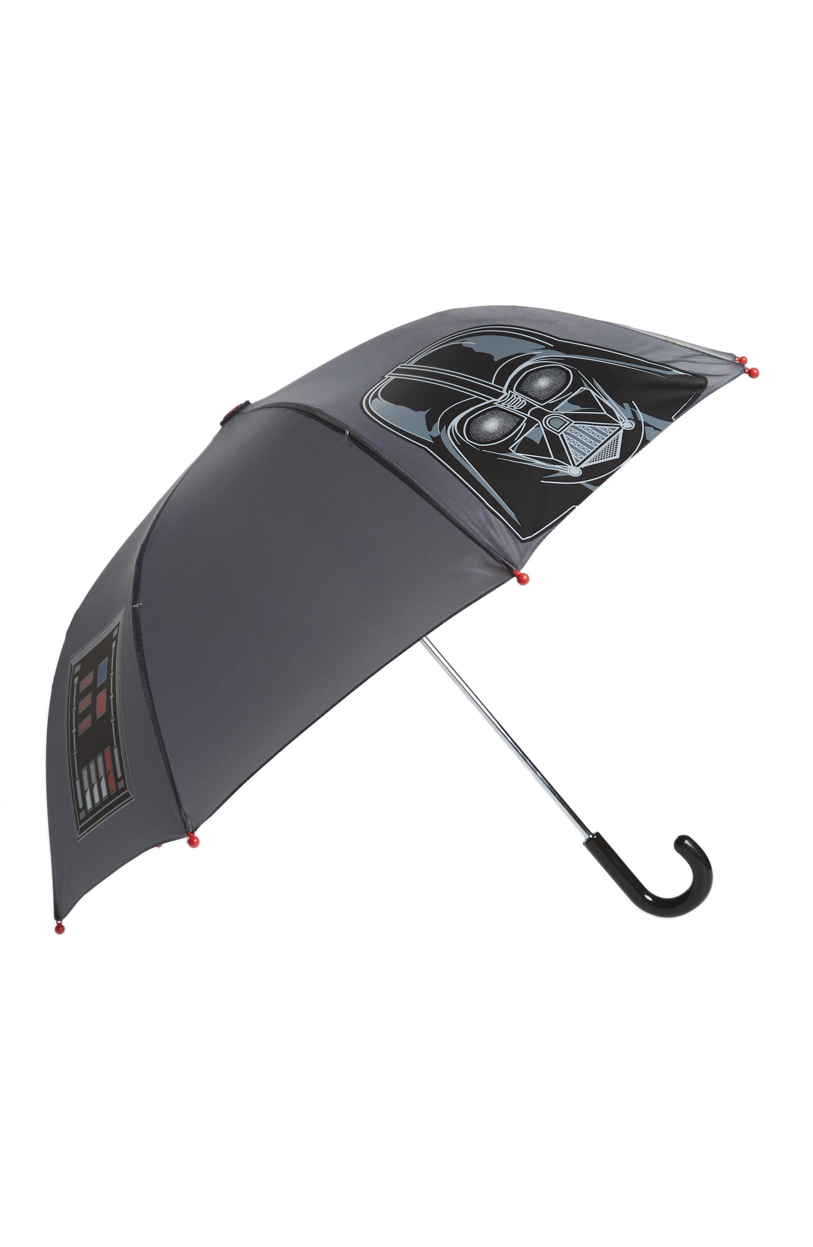 Star Wars<sup>™</sup> Darth Vader Umbrella,                             Main thumbnail 1, color,                             001