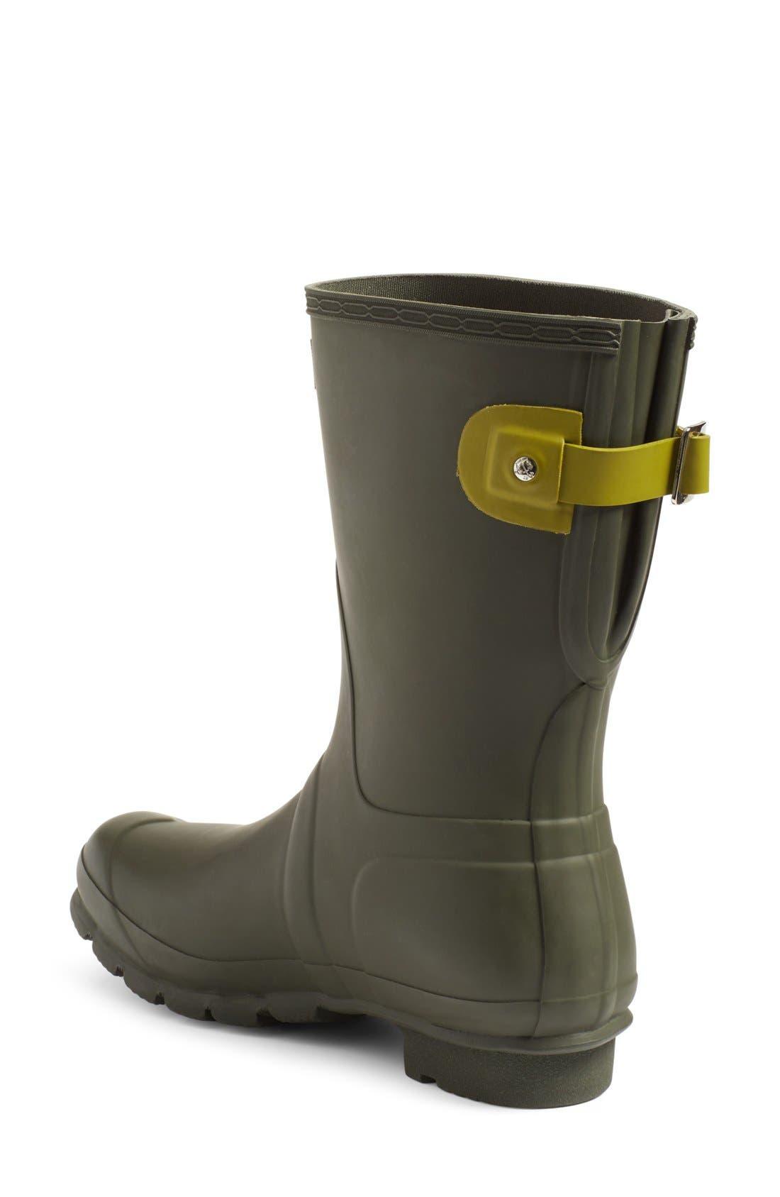 Original Short Back Adjustable Rain Boot,                             Alternate thumbnail 21, color,