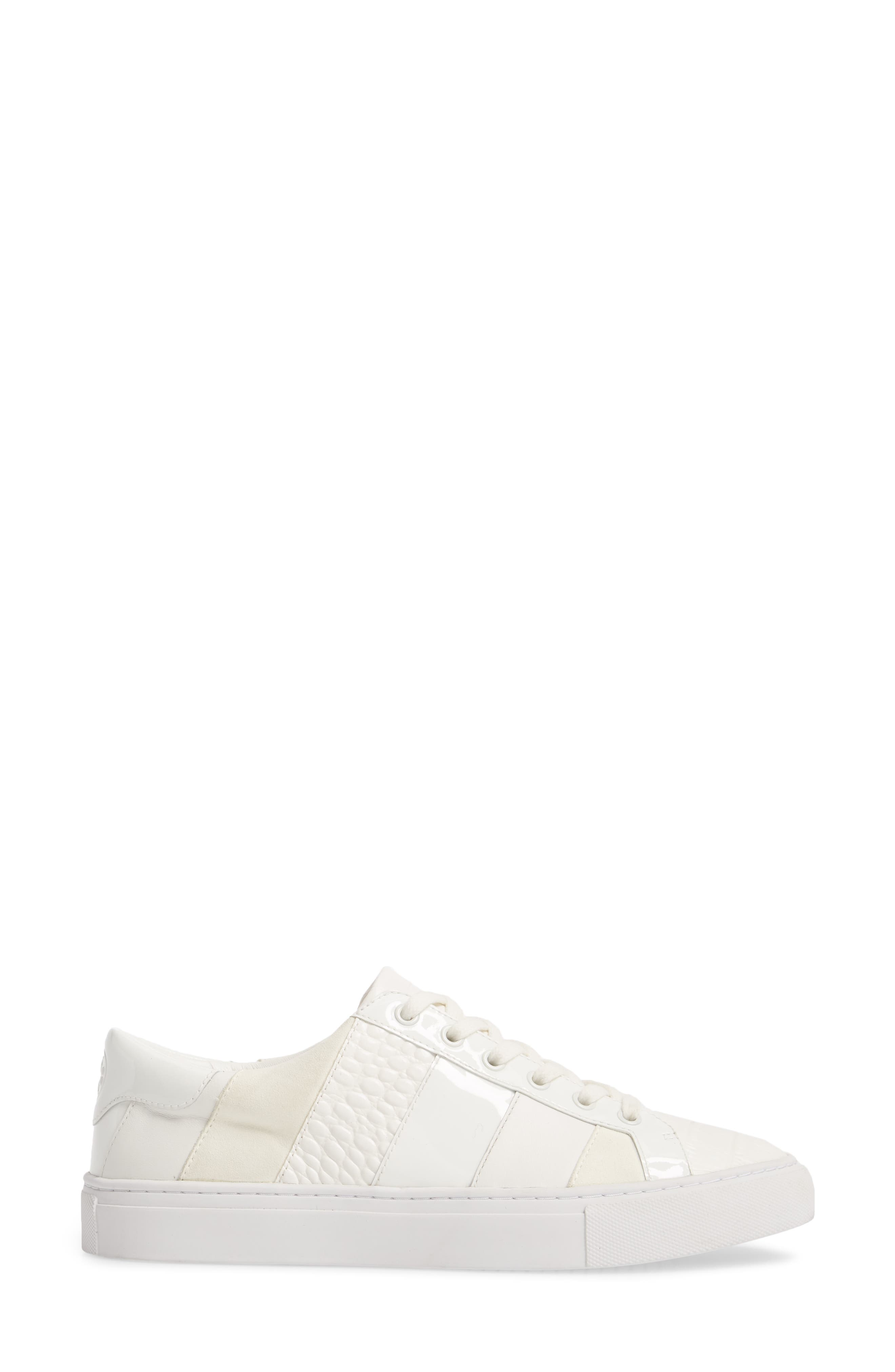 Ames Sneaker,                             Alternate thumbnail 3, color,                             SNOW WHITE