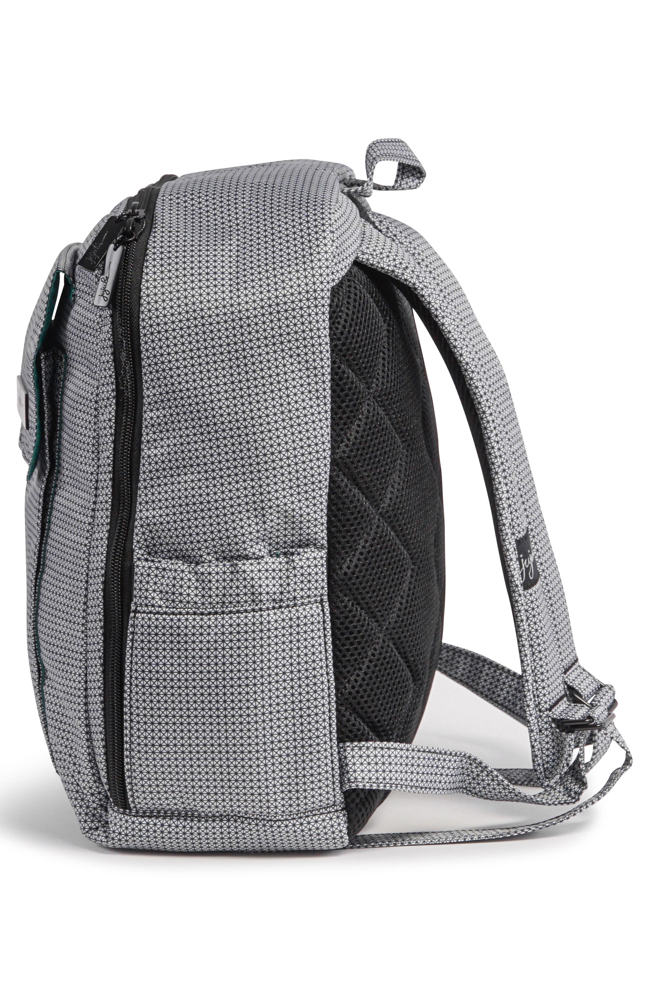 'Mini Be - Onyx Collection' Backpack,                             Alternate thumbnail 7, color,                             BLACK MATRIX