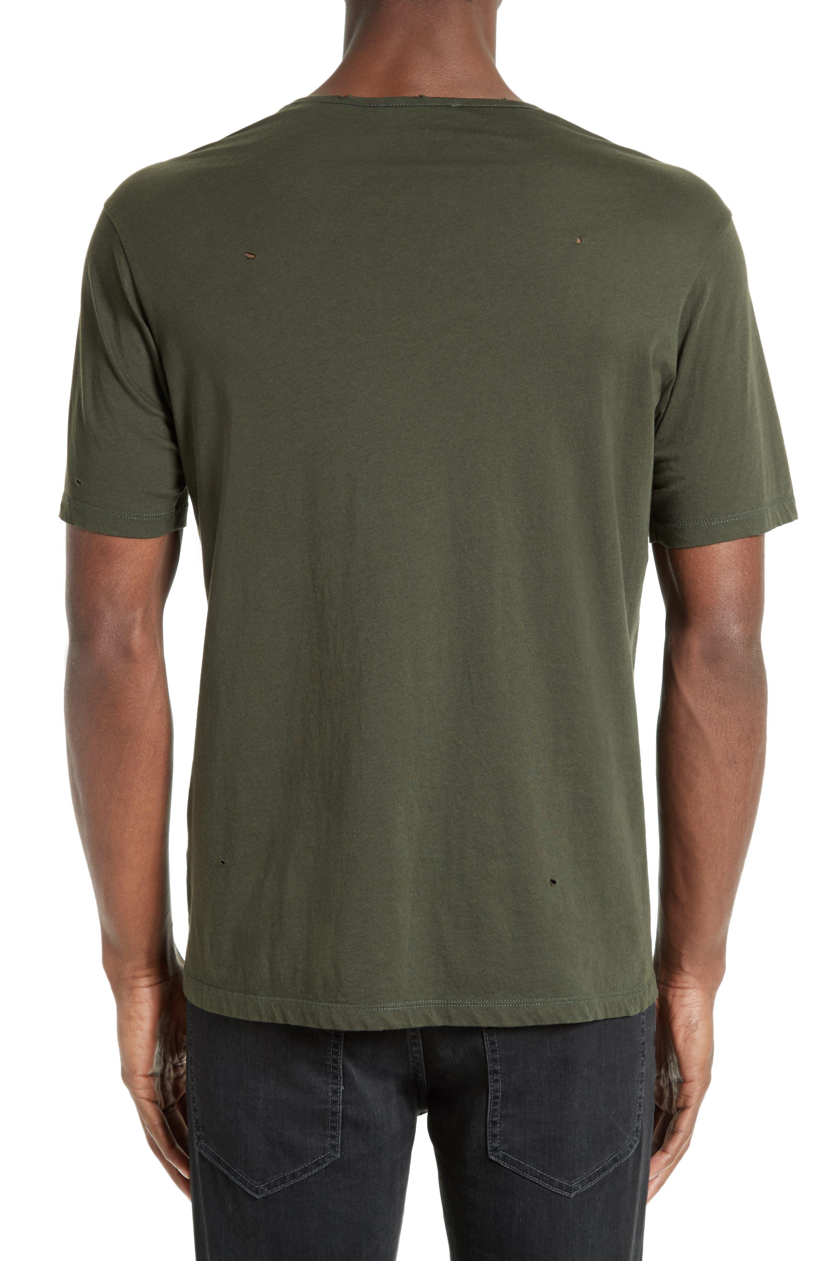 Leather Pocket T-Shirt,                             Alternate thumbnail 2, color,                             300