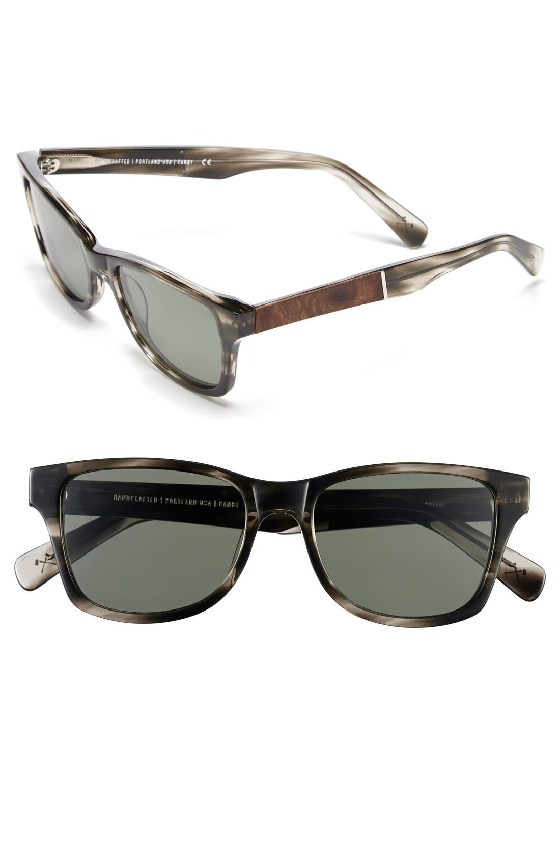 'Canby' 53mm Polarized Sunglasses,                             Main thumbnail 4, color,