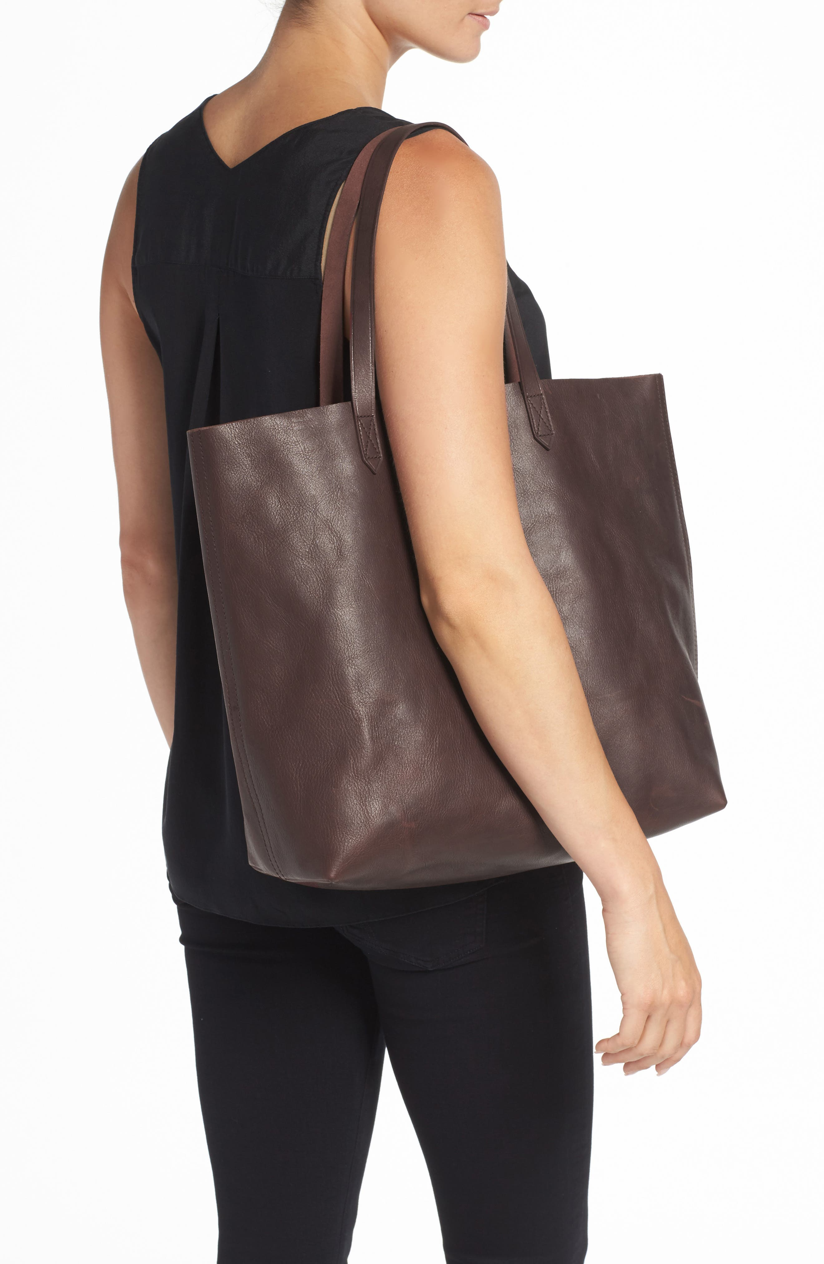 Transport Leather Tote,                             Alternate thumbnail 2, color,                             606