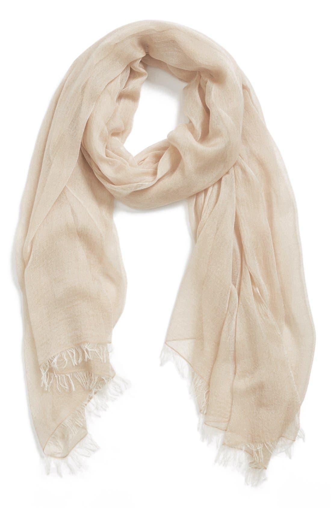 Modal Silk Blend Scarf,                             Main thumbnail 12, color,