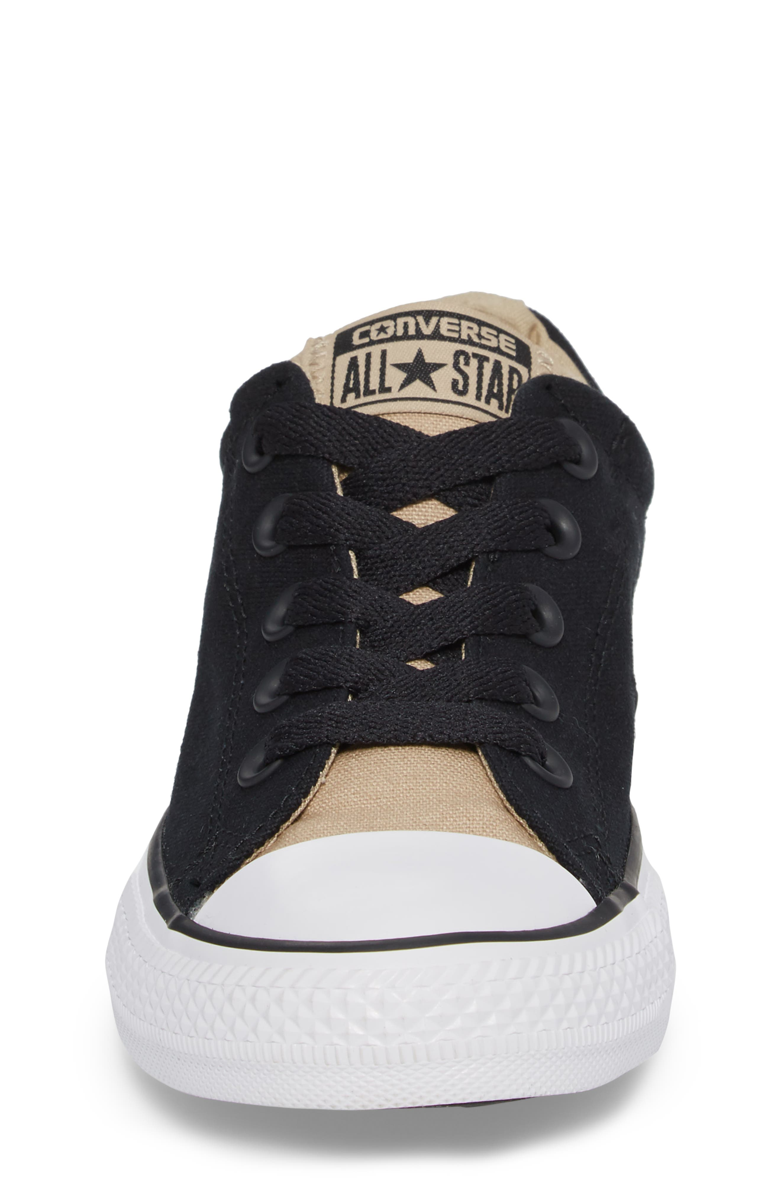 All Star<sup>®</sup> Street Slip Low Top Sneaker,                             Alternate thumbnail 4, color,                             001