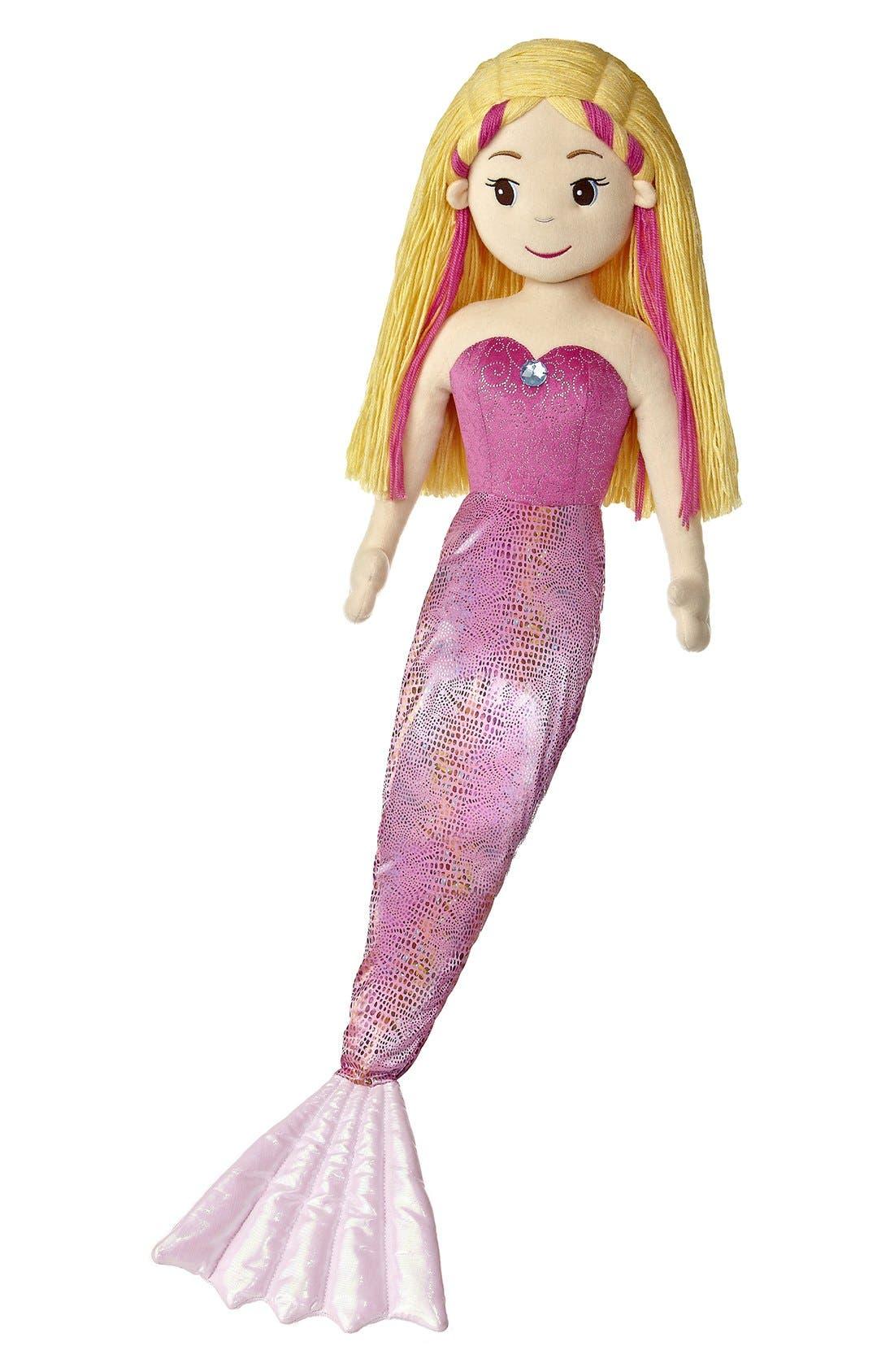 Marinna Stuffed Doll,                             Main thumbnail 1, color,                             PINK