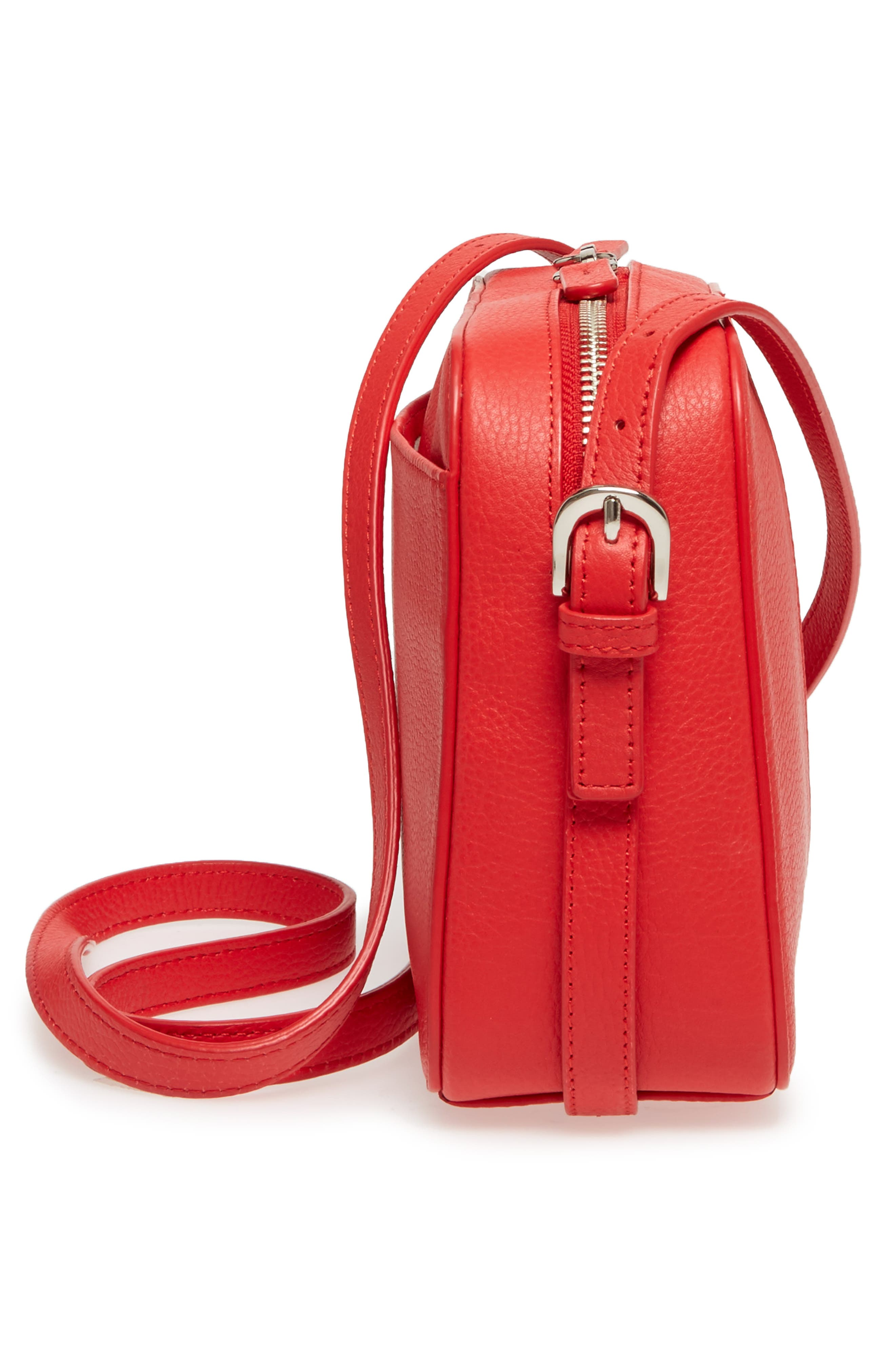 Brayden Leather Crossbody Camera Bag,                             Alternate thumbnail 25, color,