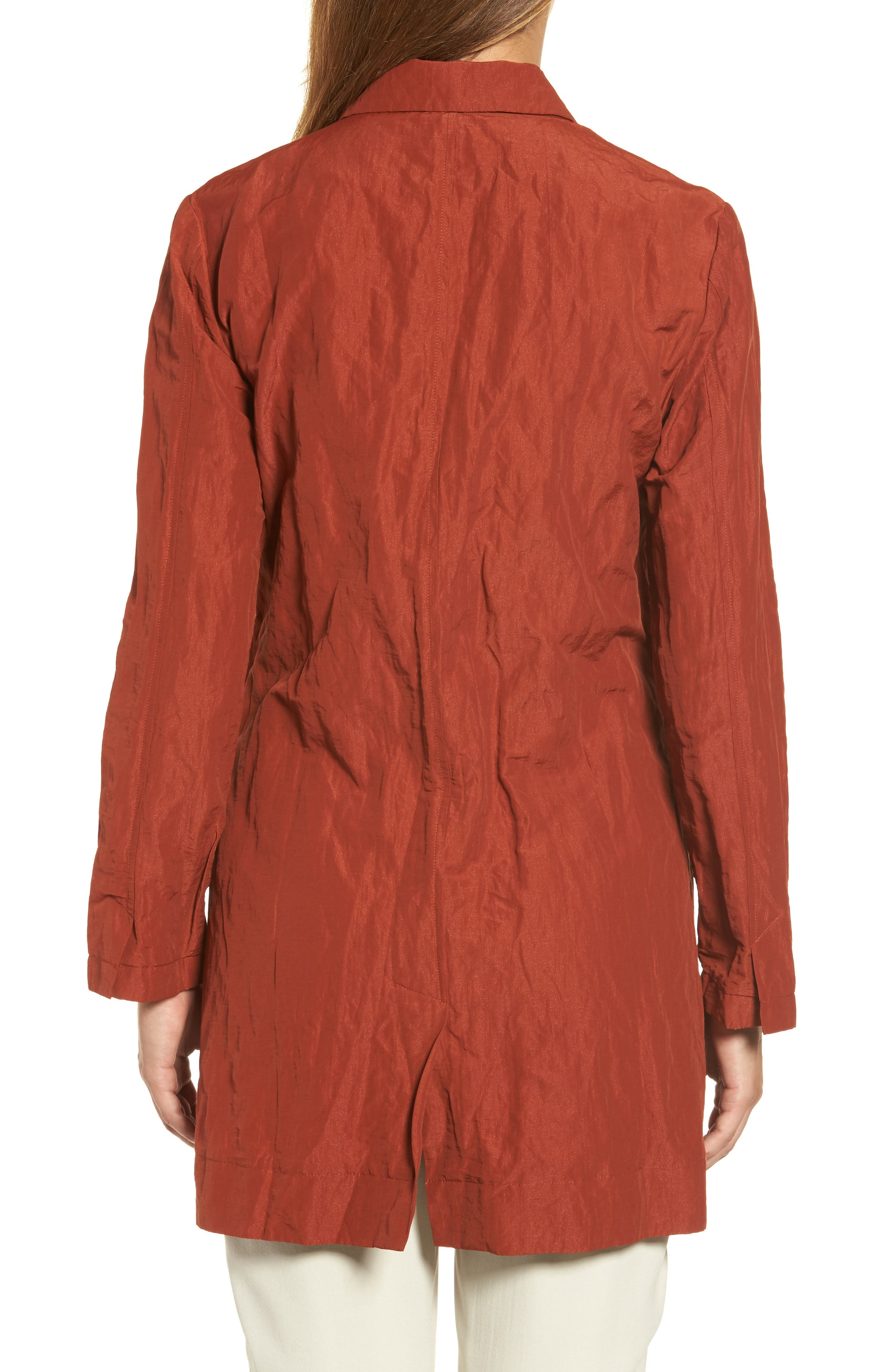 Notch Collar Long Jacket,                             Alternate thumbnail 2, color,                             620
