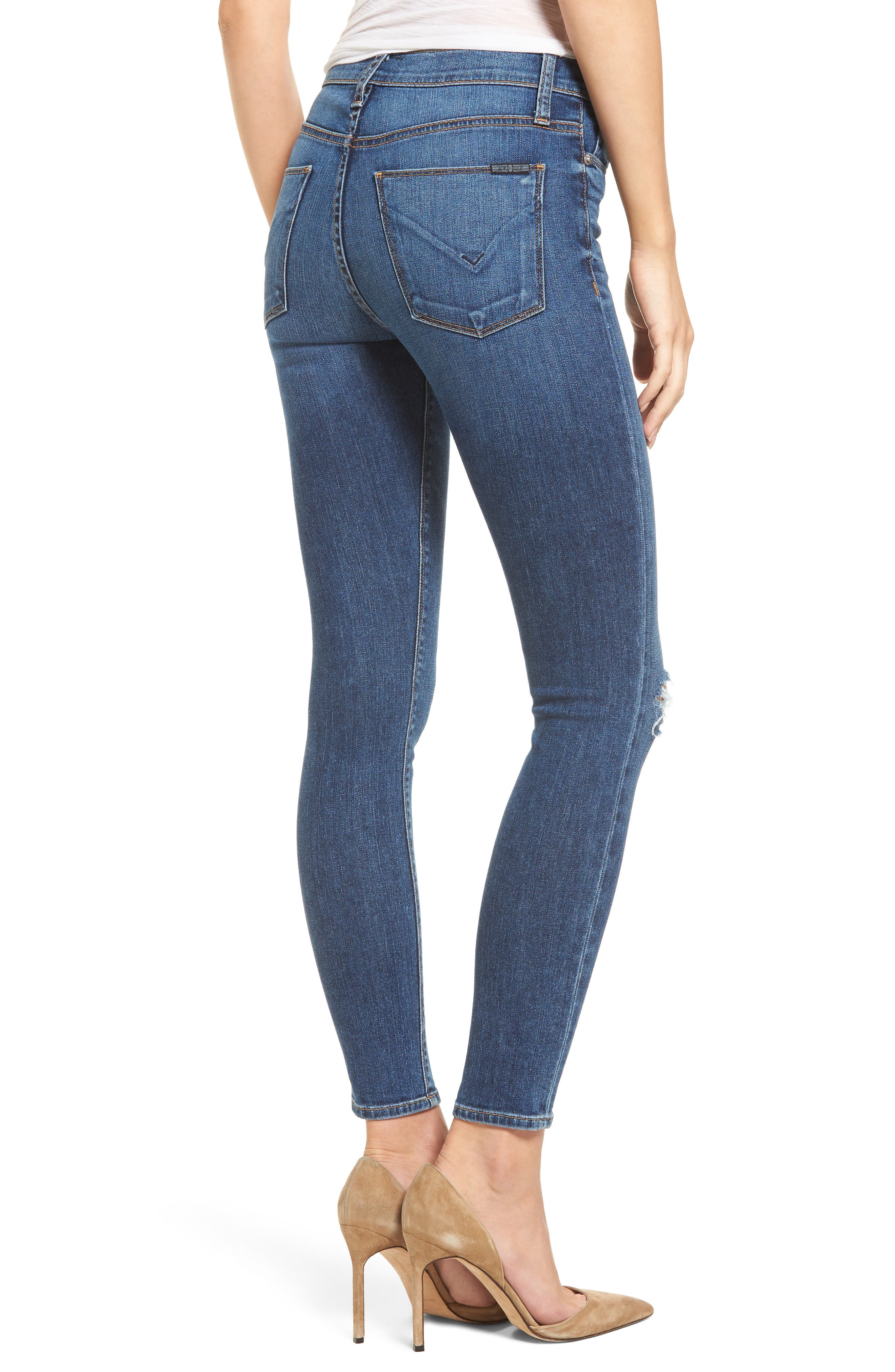 Nico Ankle Super Skinny Jeans,                             Alternate thumbnail 2, color,                             420