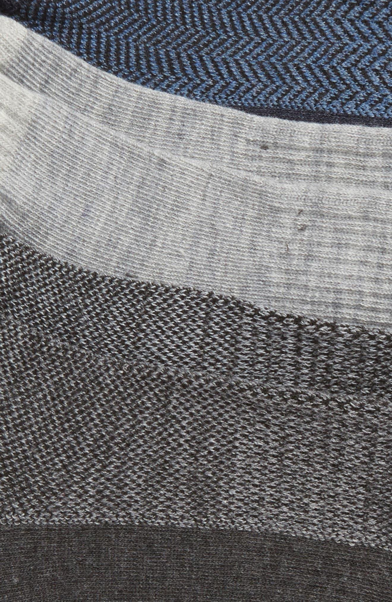POLO RALPH LAUREN,                             3-Pack Low Cut Socks,                             Alternate thumbnail 2, color,                             029