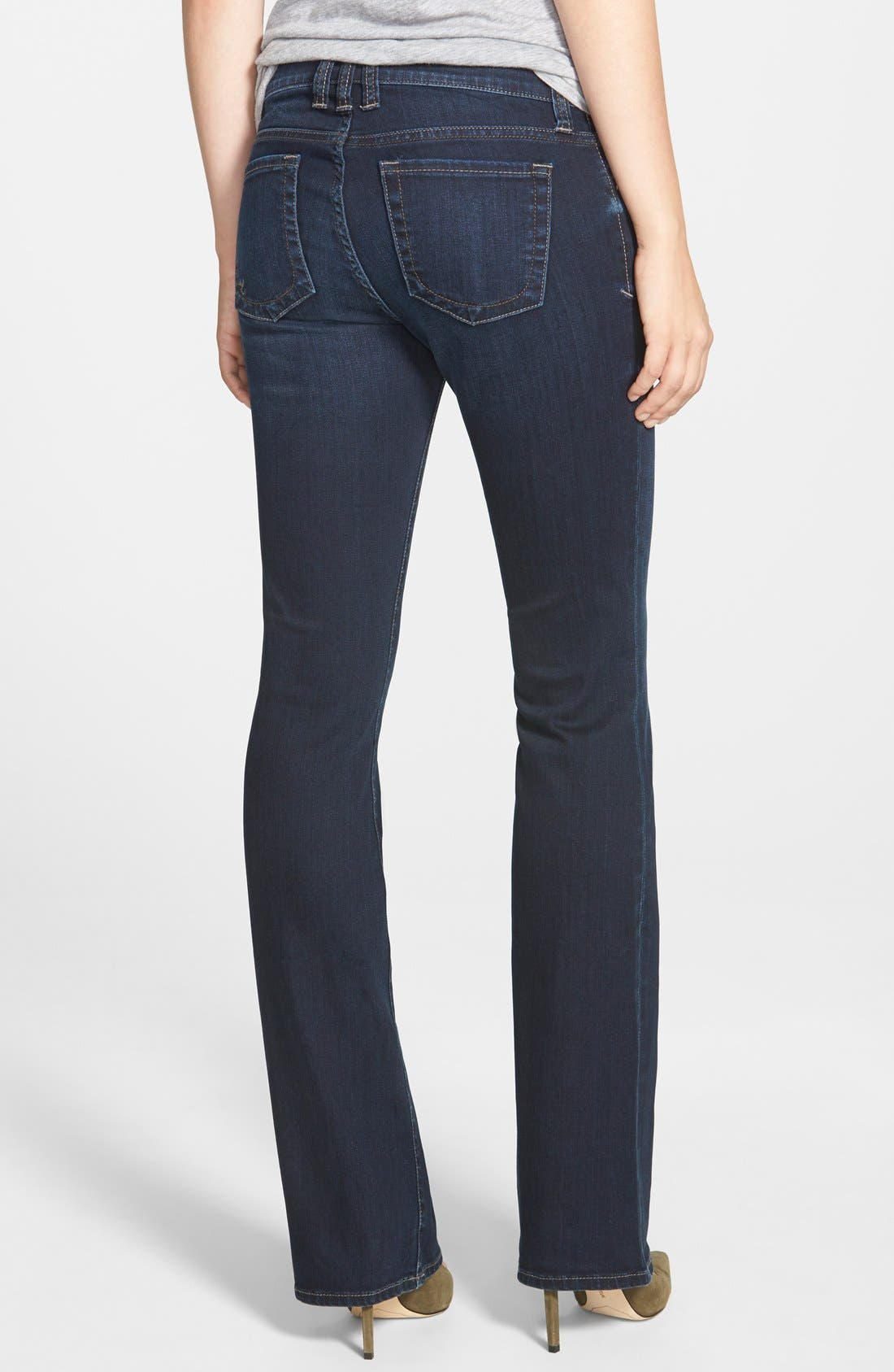 'Natalie' Stretch Bootcut Jeans,                             Alternate thumbnail 3, color,                             400