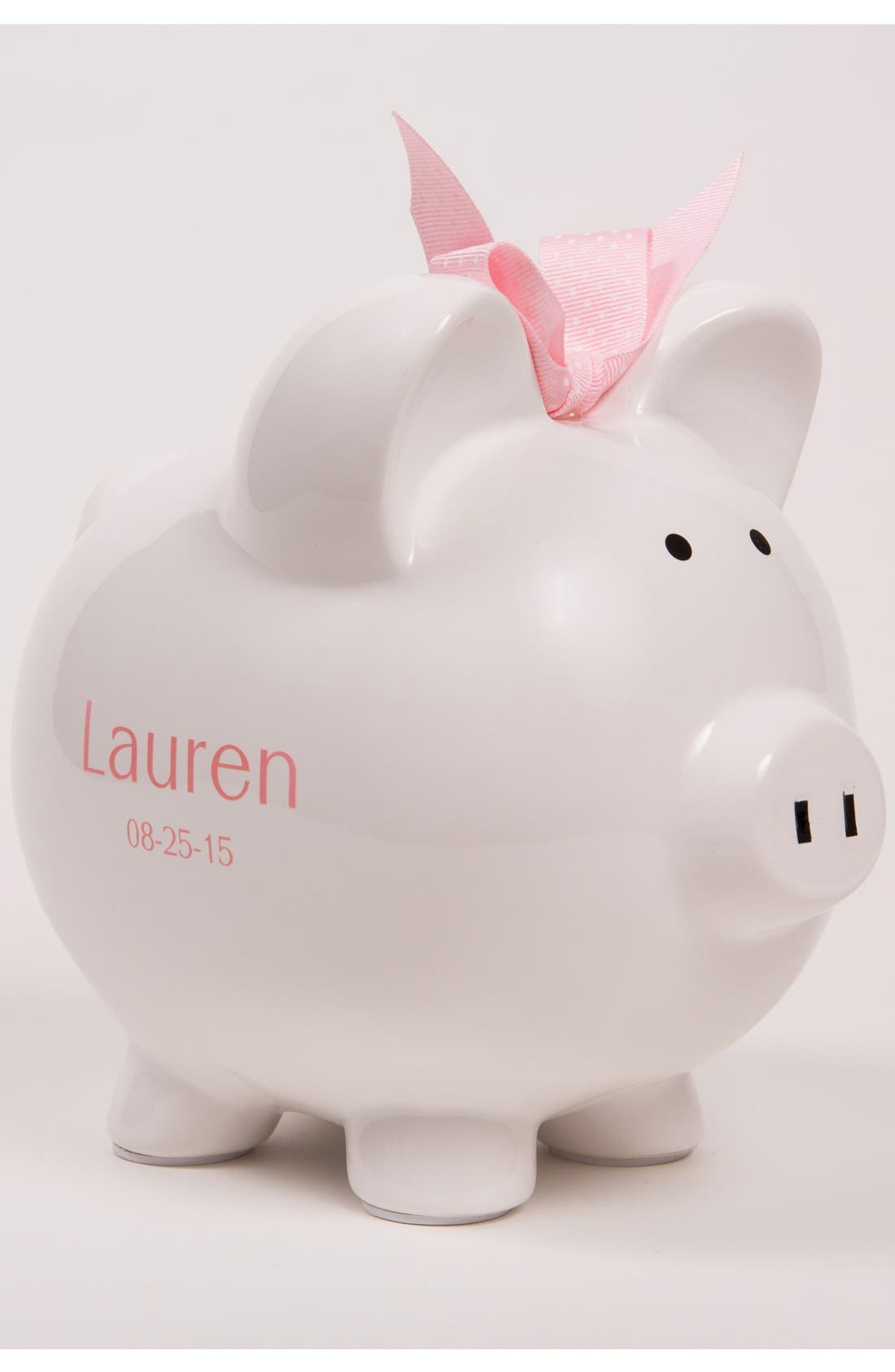 Personalized Piggy Bank,                             Alternate thumbnail 2, color,                             100