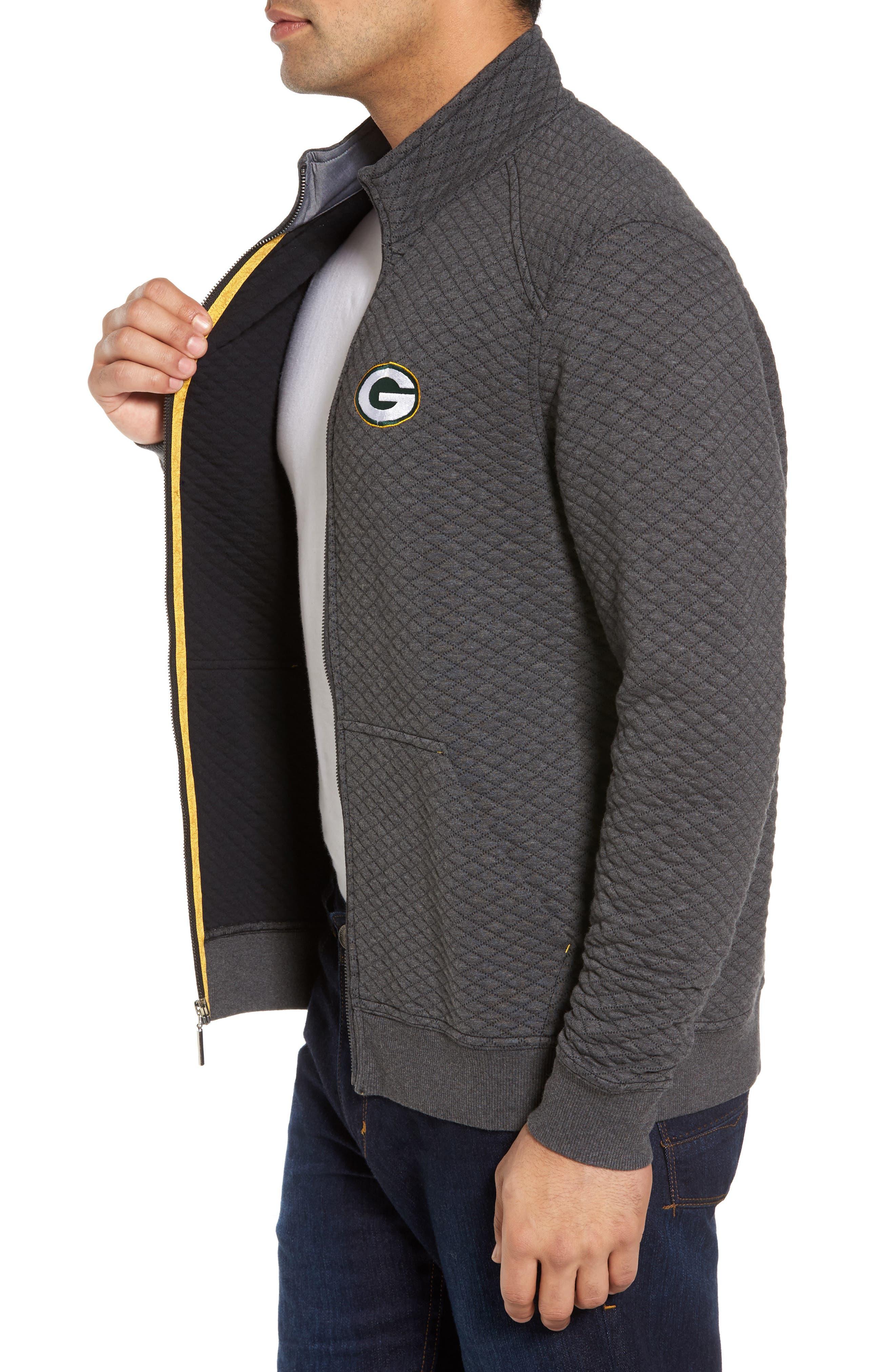 NFL Quiltessential Full Zip Sweatshirt,                             Alternate thumbnail 82, color,
