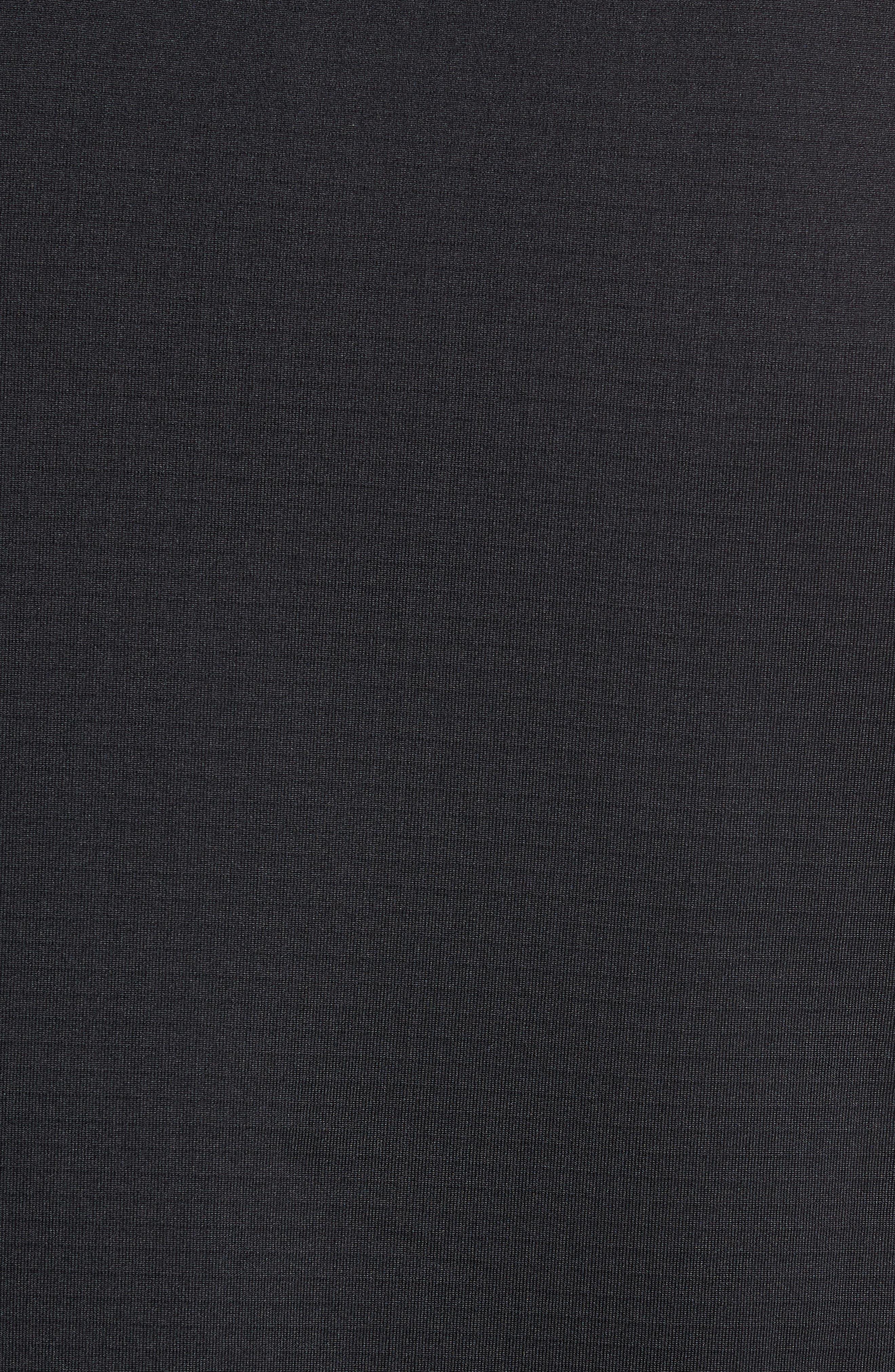 Grid Ripstop Fleece Vest,                             Alternate thumbnail 5, color,                             002
