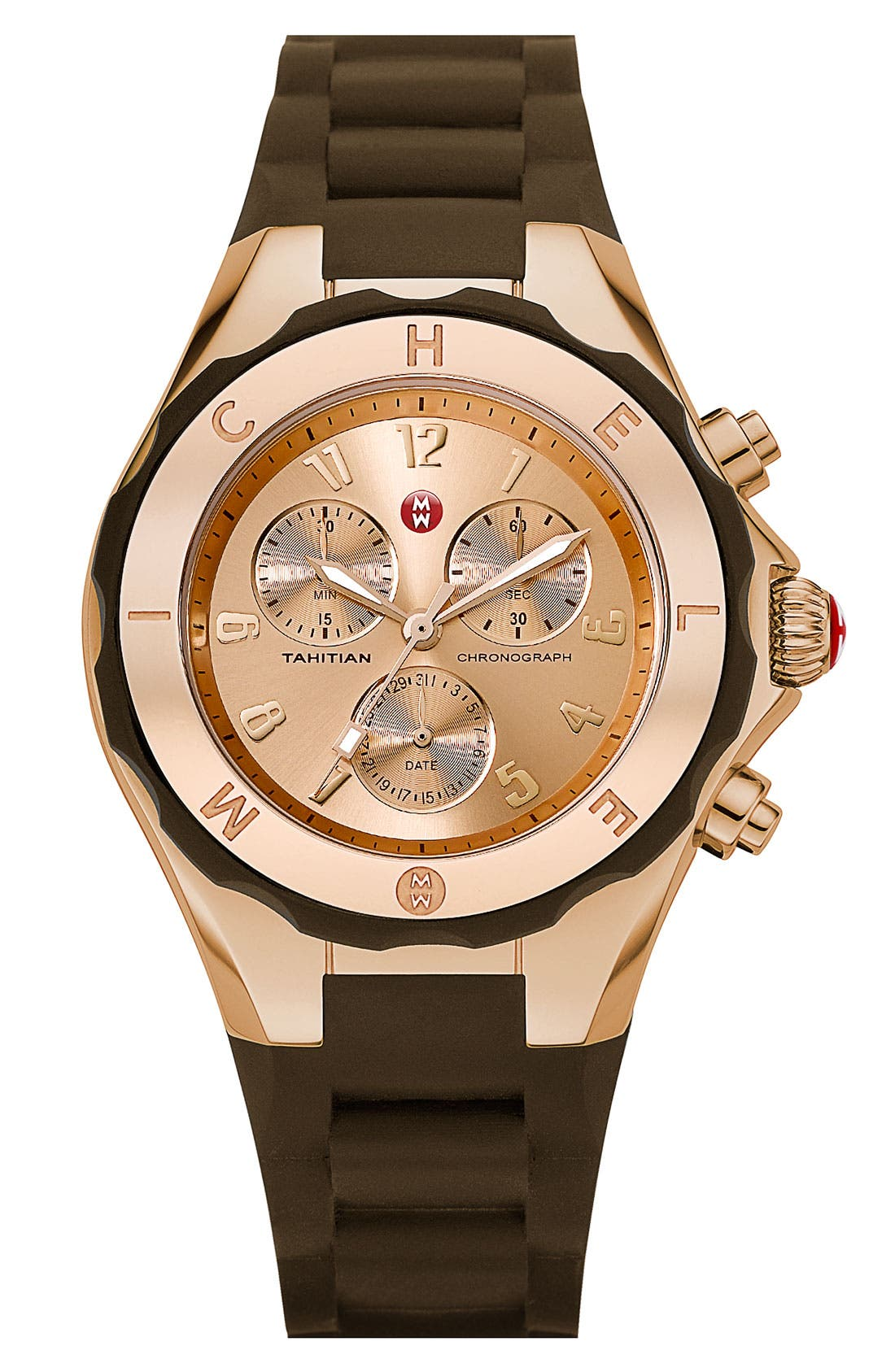 'Tahitian Jelly Bean' Gold Plated Watch, 40mm,                             Main thumbnail 11, color,