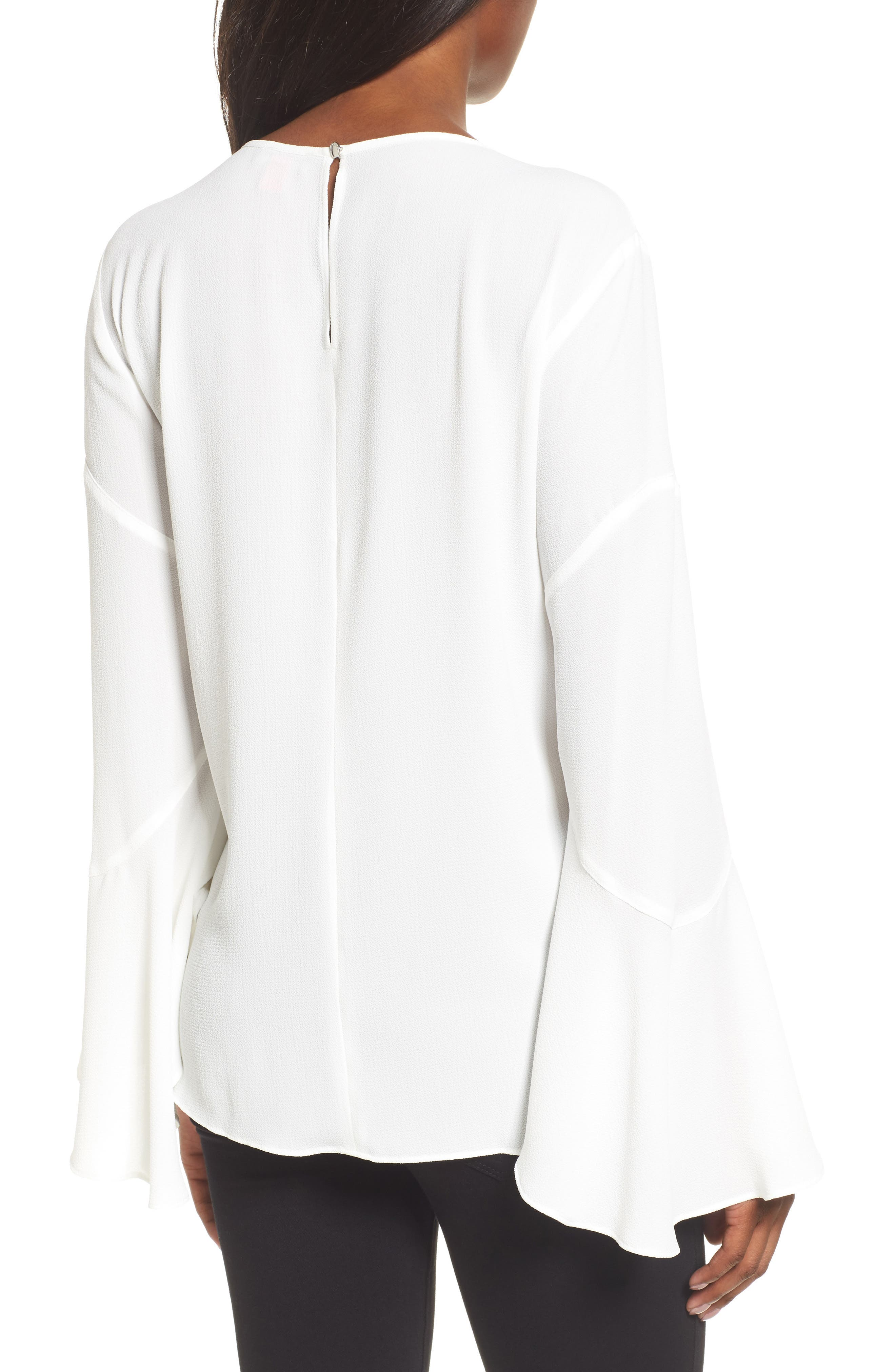 Flared Cuff Blouse,                             Alternate thumbnail 2, color,                             103