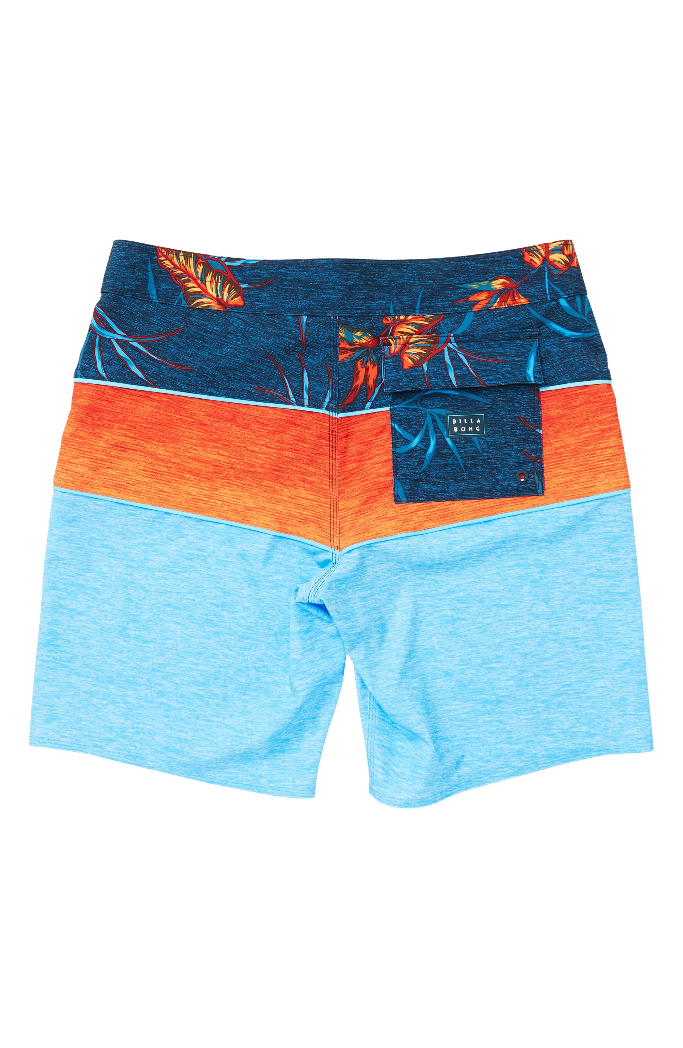 Tribong X Board Shorts,                             Alternate thumbnail 2, color,                             CYAN
