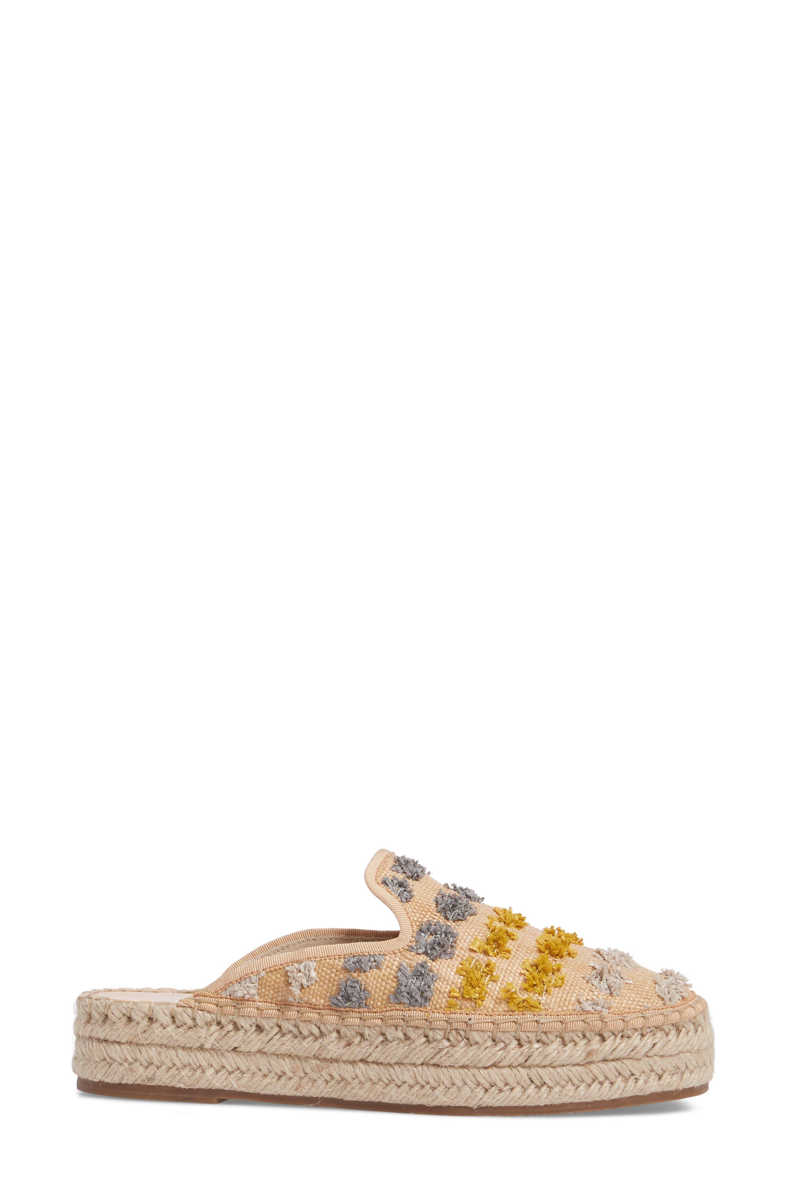 TREASURE & BOND,                             Marlowe Tufted Espadrille Loafer Mule,                             Alternate thumbnail 3, color,                             026