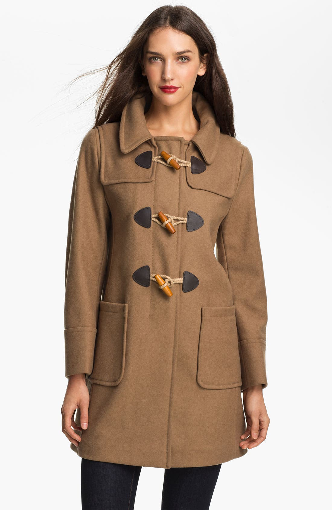 GLOVERALL Swing Duffle Coat, Main, color, 250