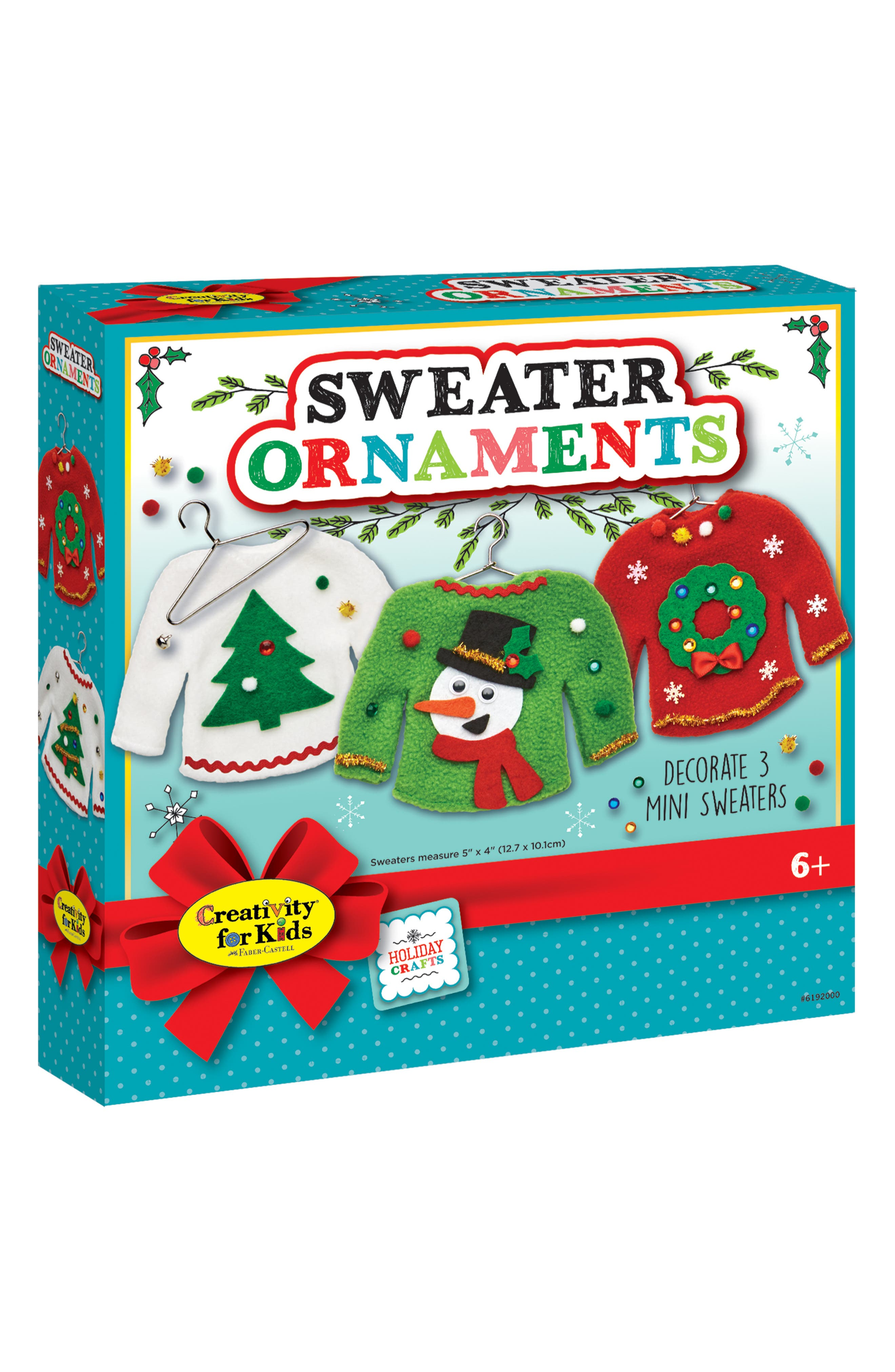 Sweater Ornaments Kit,                         Main,                         color, 320