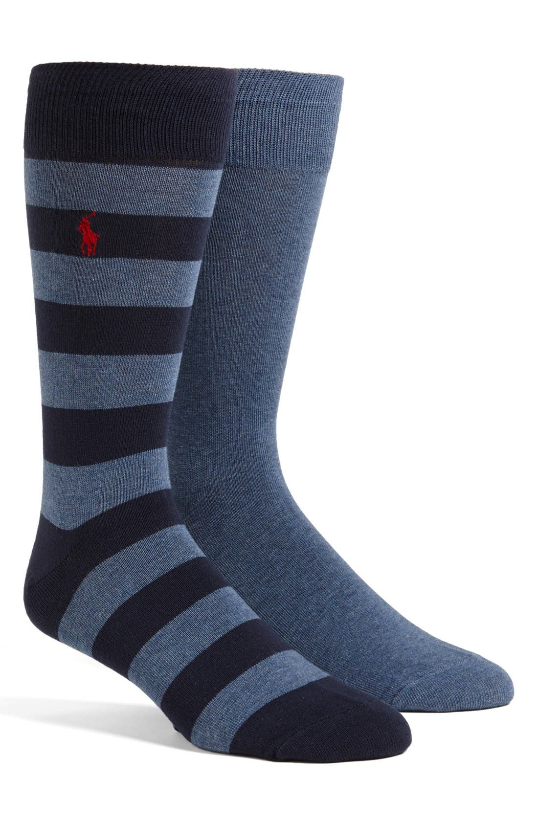 Cotton Blend Socks,                             Main thumbnail 11, color,