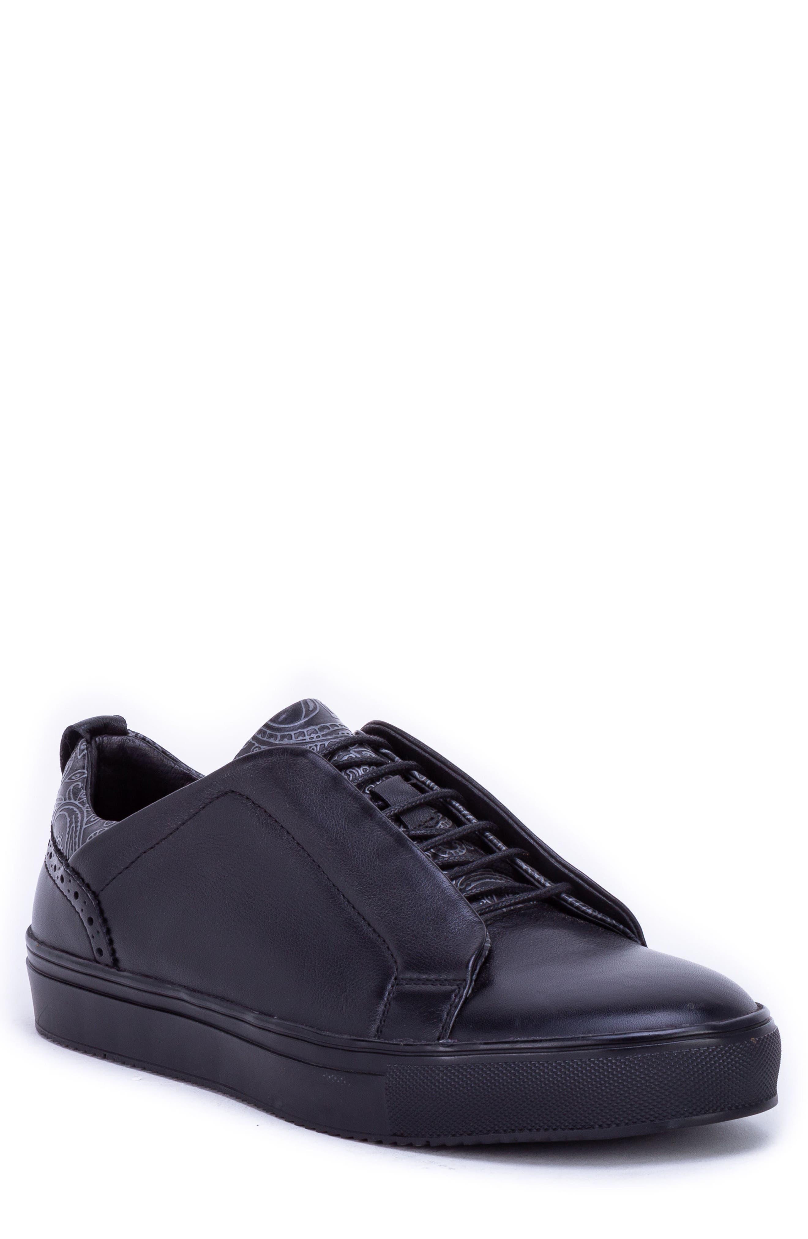 Sharpe Textured Sneaker,                             Main thumbnail 1, color,                             001