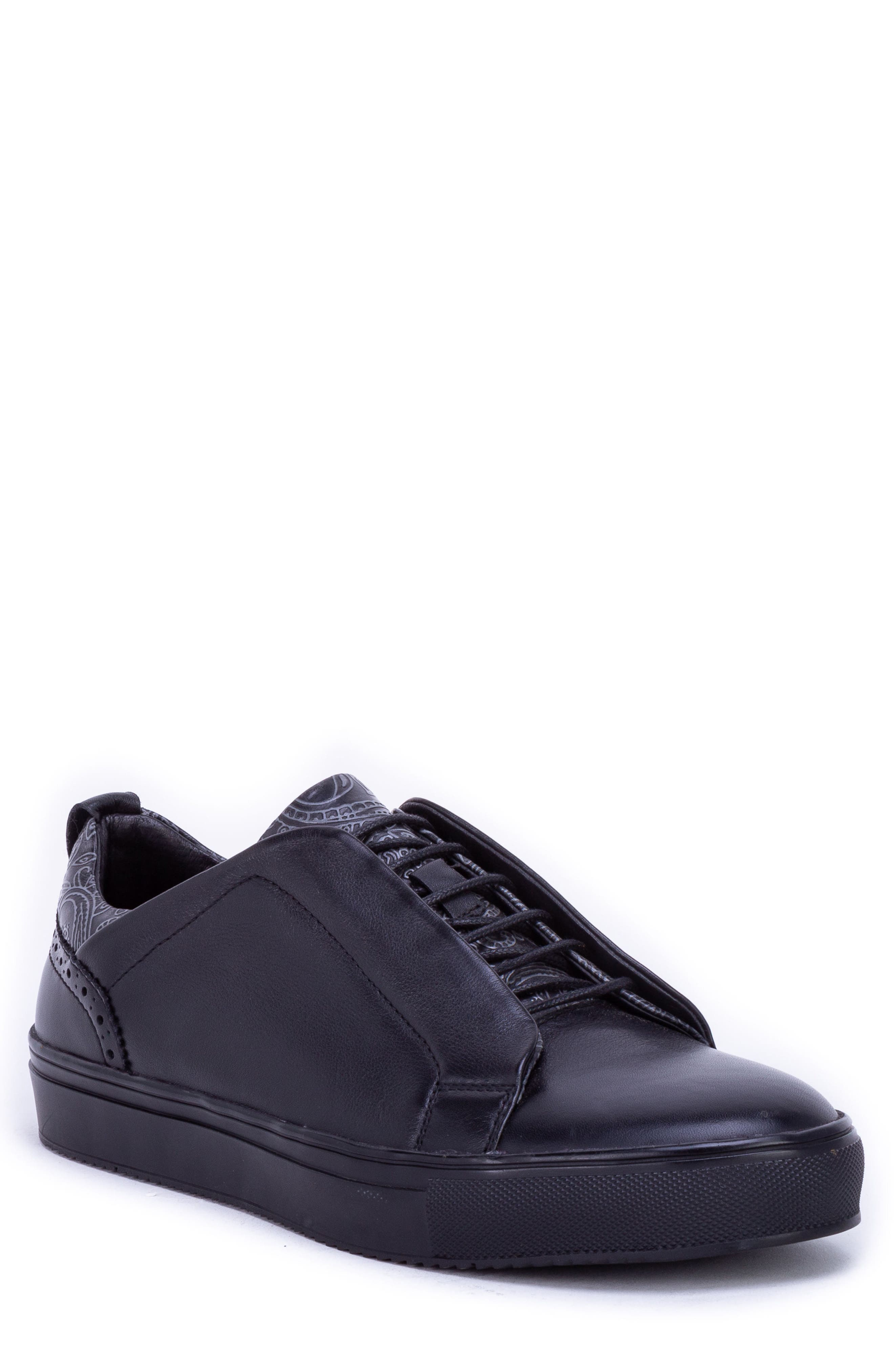 Sharpe Textured Sneaker,                         Main,                         color, 001