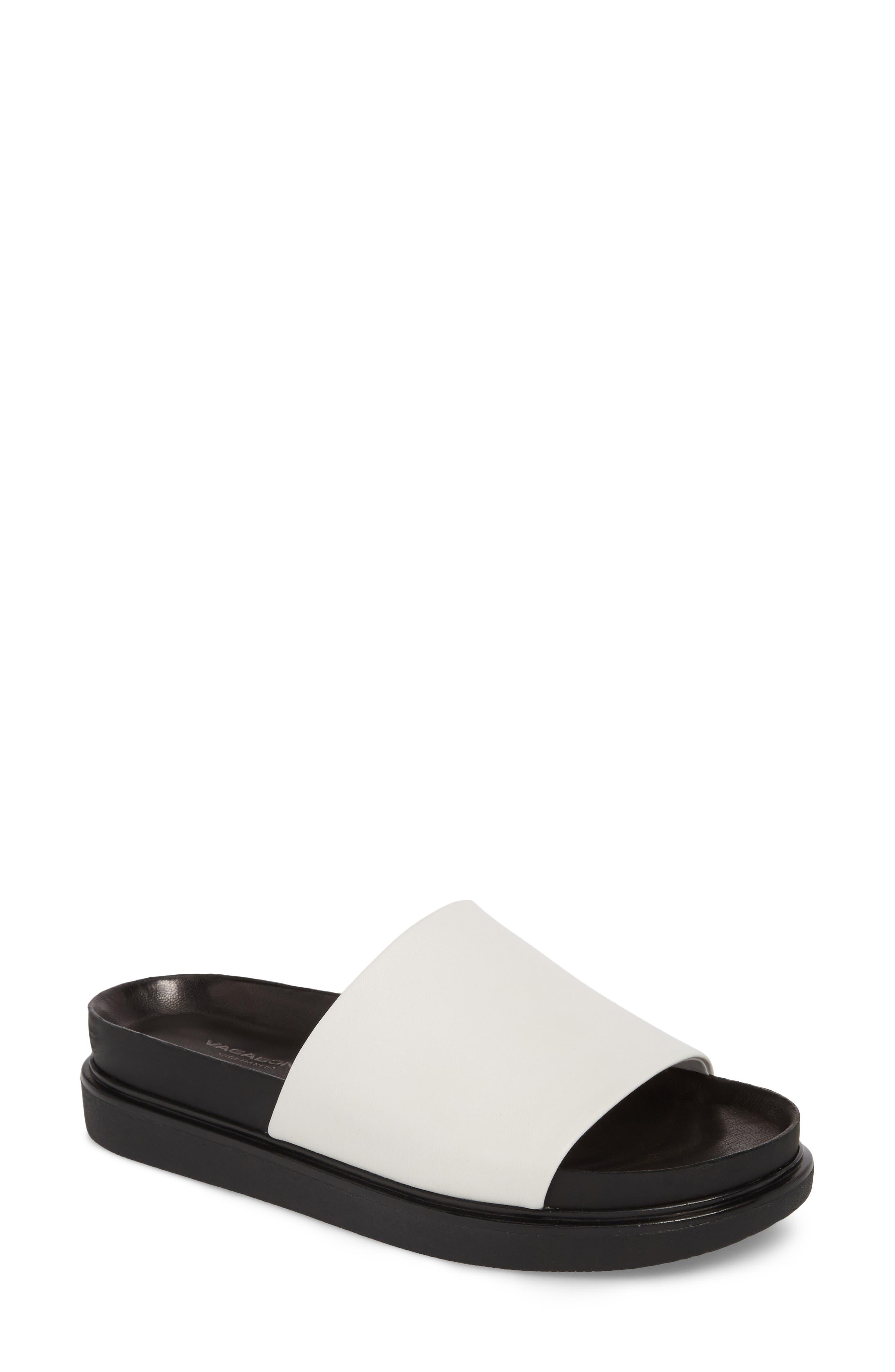 Vagabond Shoemakers Erin Slide Sandal, White